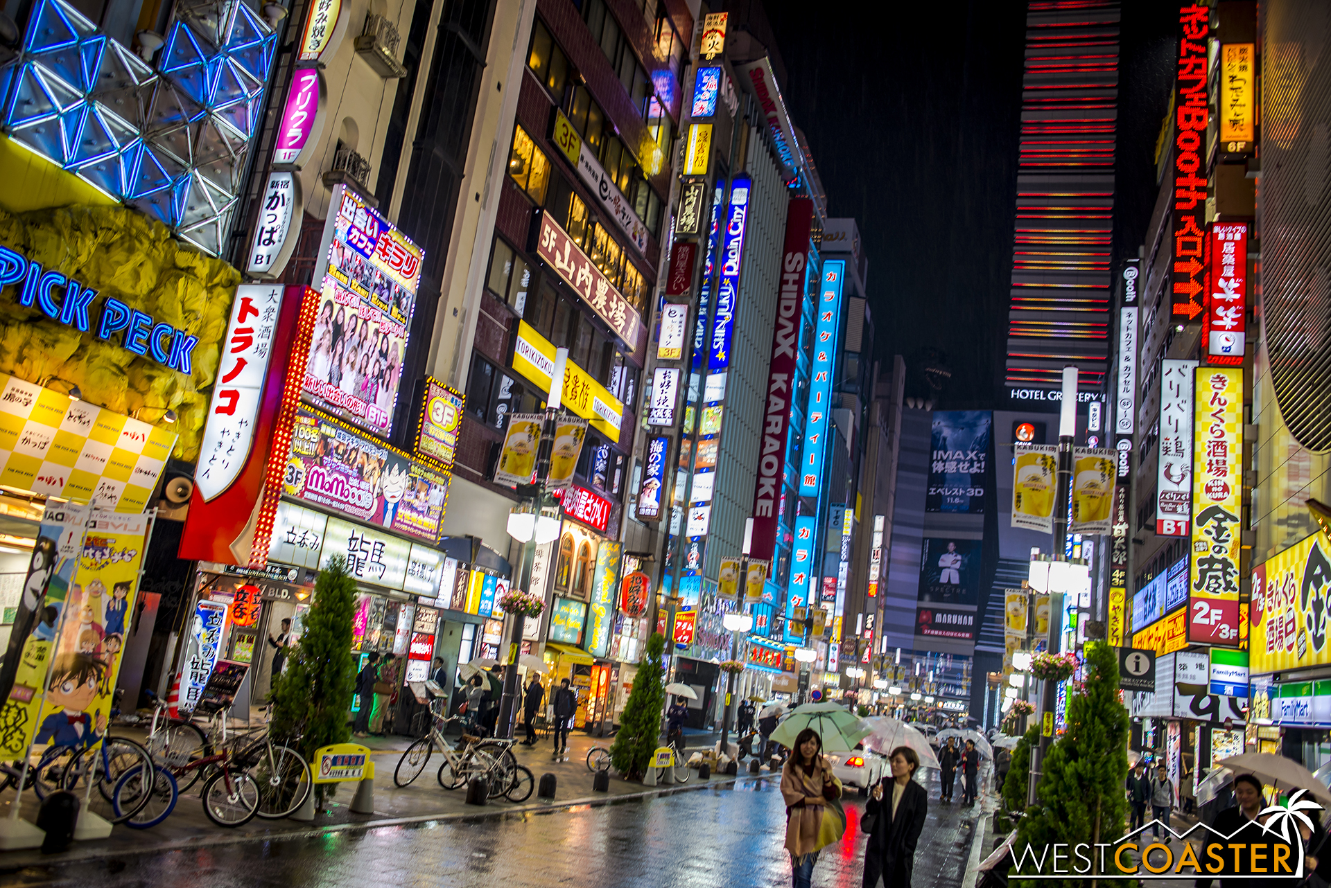 """Vibrant and surprising Shinjuku, one of the many places in Tokyo that really resonates """"Japan."""""""