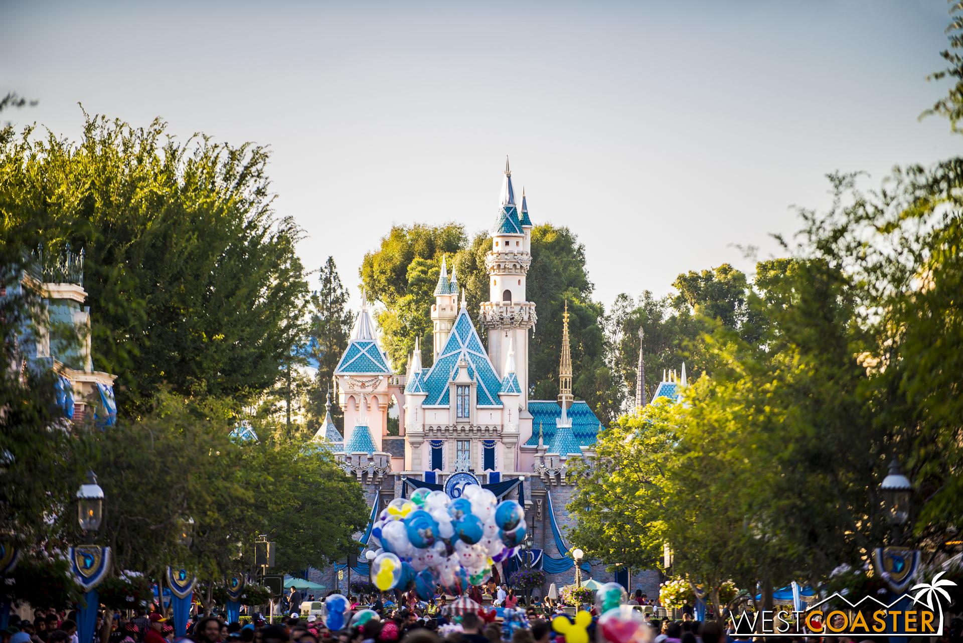 Disneyland is 60... one years old!