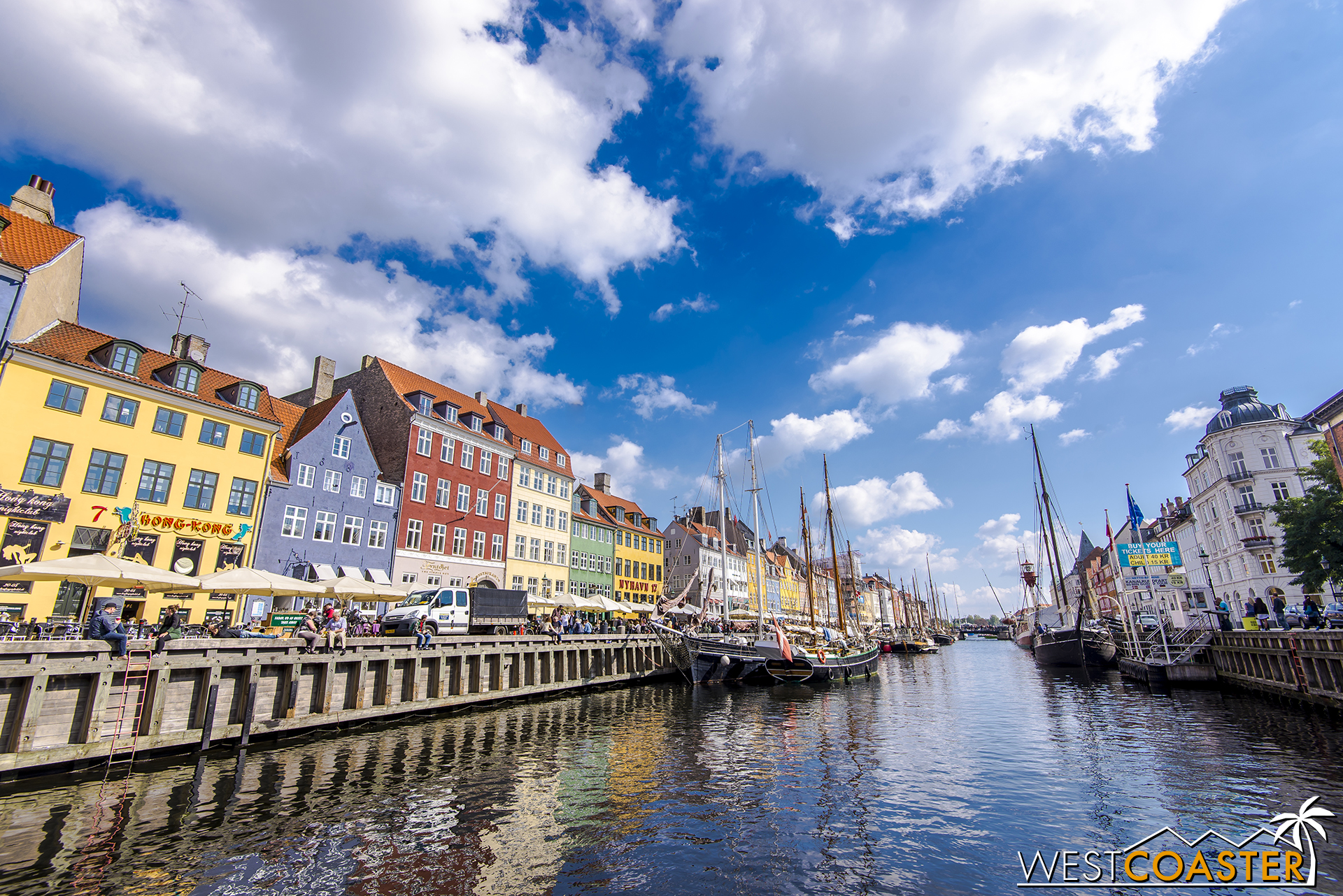 The colorful canal-fronting facades of Nyhavn form one of the most charming, photogenic, and cataloged areas of Copenhagen.