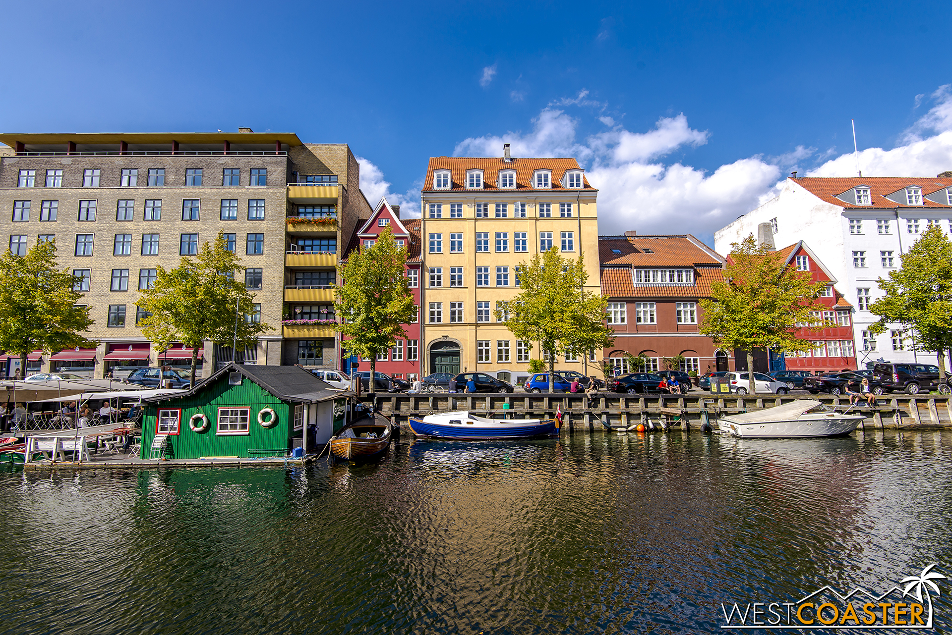 Christianshavn has its fair share of canals and waterfront too.
