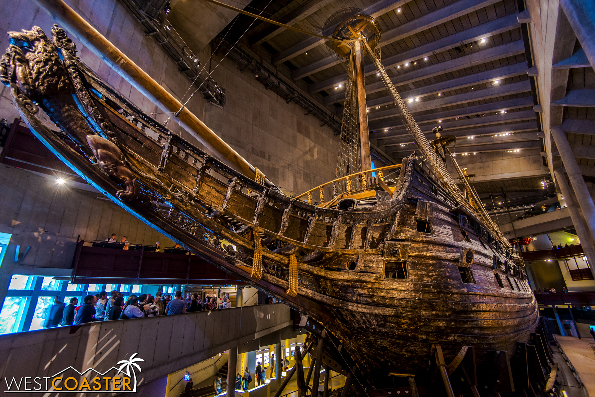 The most visited museum in Scandinavia, the Vasa Museum focuses on the  Vasa , the only almost-fully intact 17th century ship ever salvaged, which sank on her maiden voyage (call it Sweden's  Titanic ).
