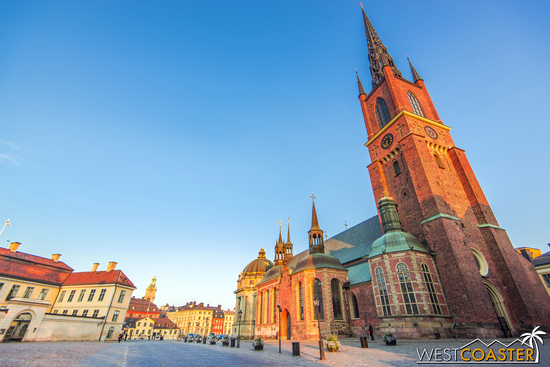 Beautiful Riddarholm Church, located on the island of Riddarholmen (part of Gamla Stan), is also known as the burial place for many Swedish monarchs.