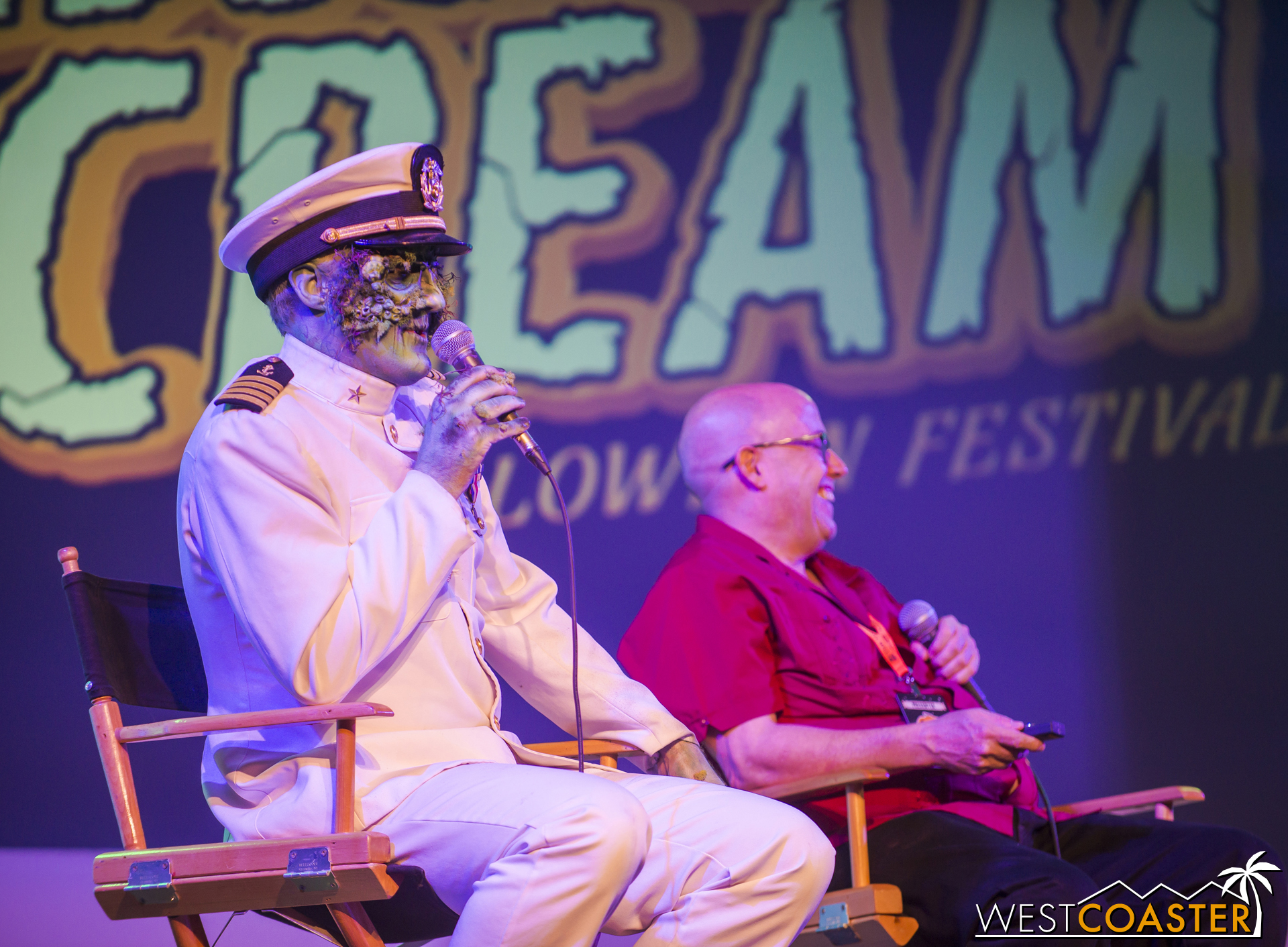 Returning mazes for 2016 include Deadrise, Soulmate, B340, Lullaby, and The Circus. The first three have been redesigned to various significant extents and will feature longer and different layouts and even access to previously private parts of the ship. Soulmate will even venture by the infamous Propeller Room. Meanwhile, The Circus will return last year's ball pit and add more than one route through the maze. Also, bars have been added to every line. Cuz booze.