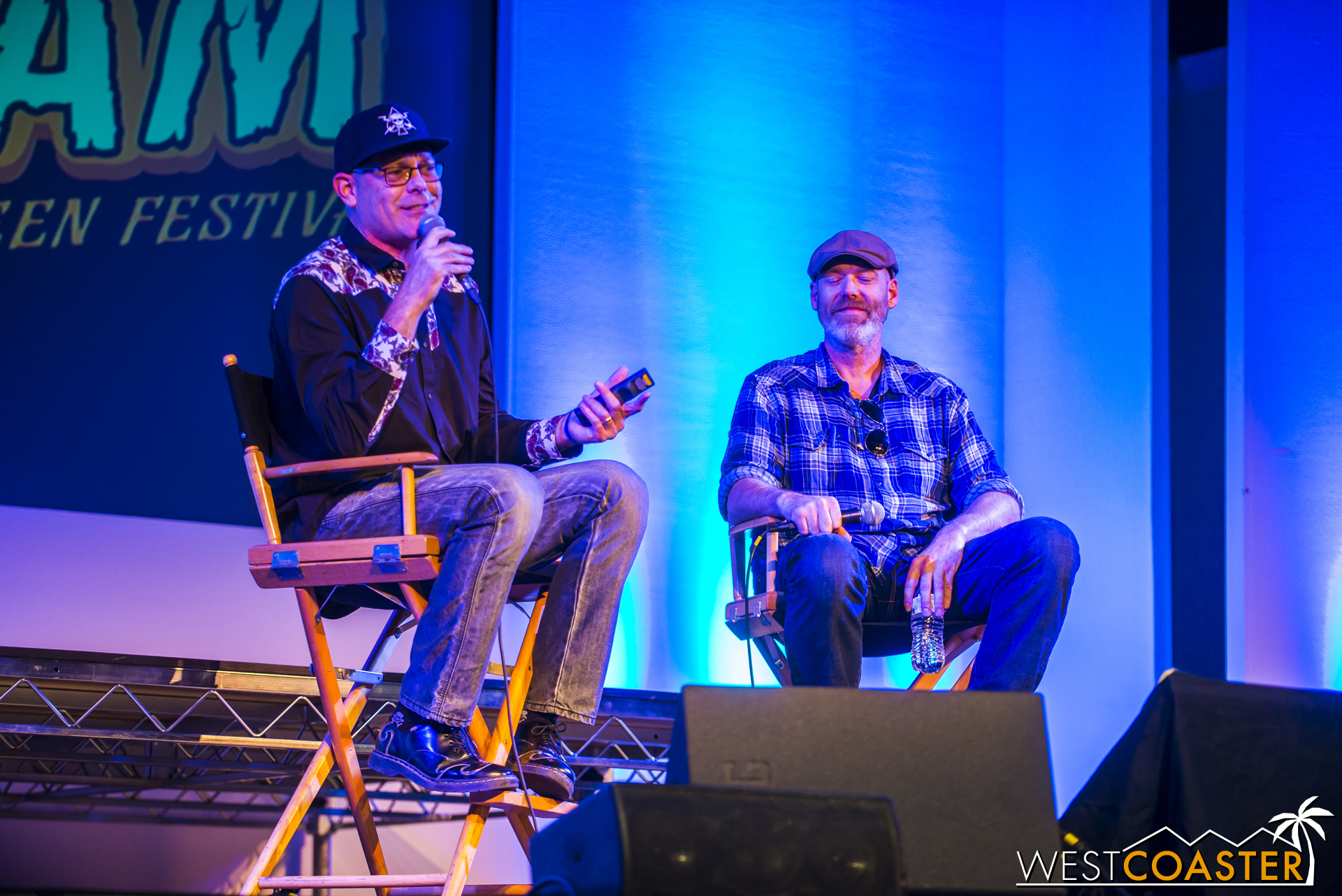 """Murdy and Williams began their talk with a history of Horror Nights at Universal Studios Hollywood in its current iteration. After bringing it back in 2006, they were able to implement their master plan in 2007 of """"bringing horror movies to life."""" In other words, transporting guests into iconic scenes and moments from their favorite horror films."""