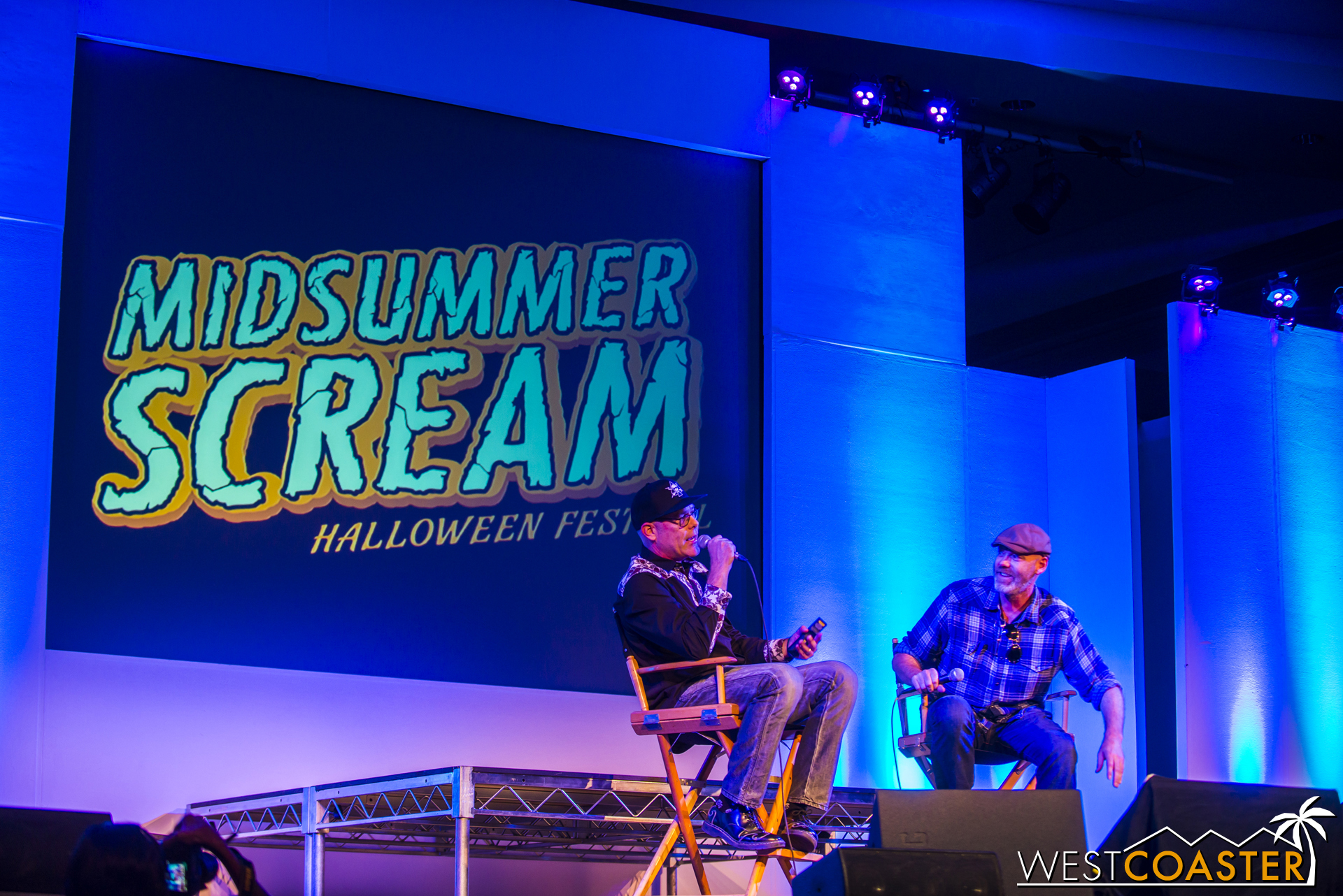 They then went over the three mazes themed to Freddy, Jason, Michael Myers, and Leatherface for 2016. There was a familiar formula: review past HHN mazes themed to these icons and talk about the evolution of props and effects and scare tactics used in these mazes that paved the way for similar effects to be used prevalently elsewhere.