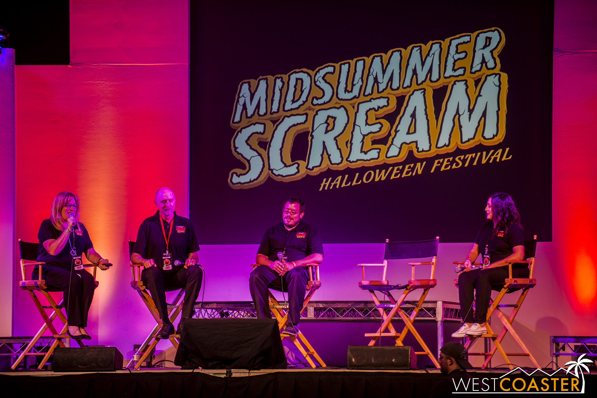 The Fright Fest team was quite excited to be at Midsummer Scream to announce their 2016 plans.