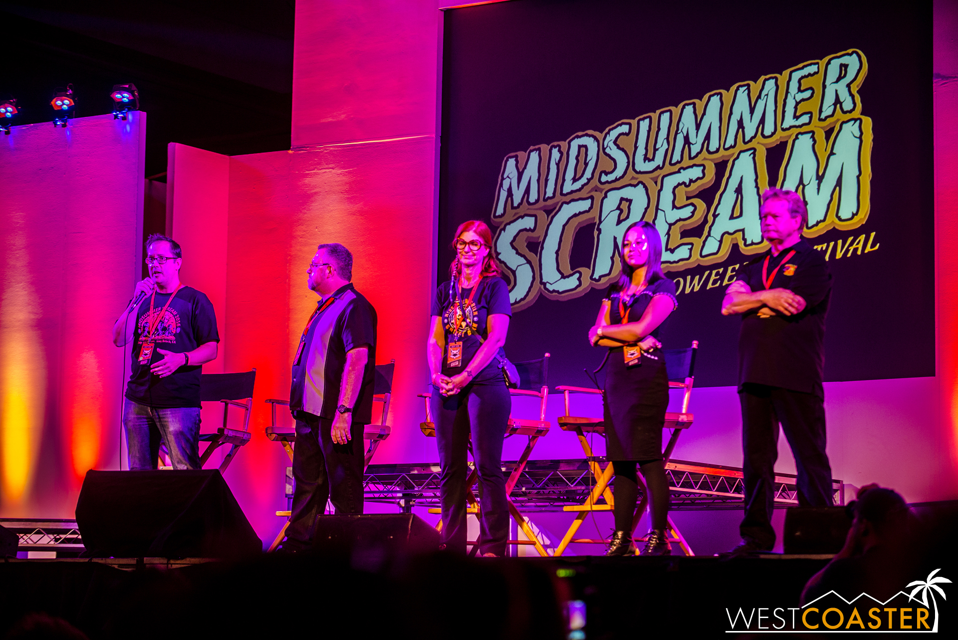 The final panel of Midsummer Scream 2016 began with the head team coming out for one last exchange of thanks.