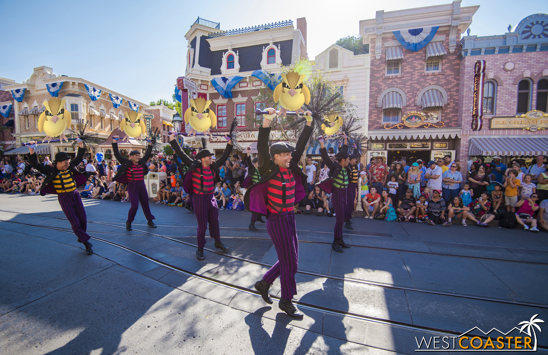 Mickey's Soundsational parade, though?  Seems like it's not going anywhere.