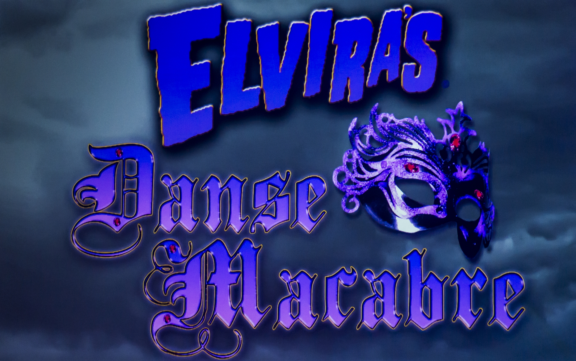 Elvira will be back with another dance and acrobatics variety show. (Image courtesy of Knott's Scary Farm)