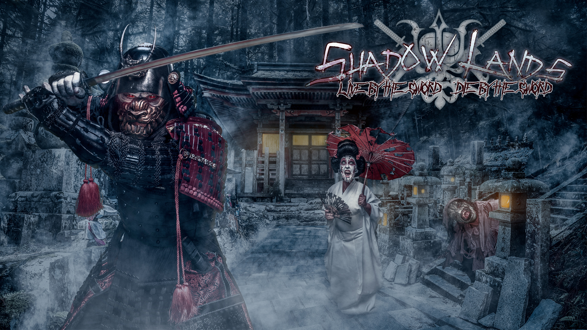 Shadowlands: Live by the Sword, Die by the Sword (Image courtesy of Knott's Scary Farm)
