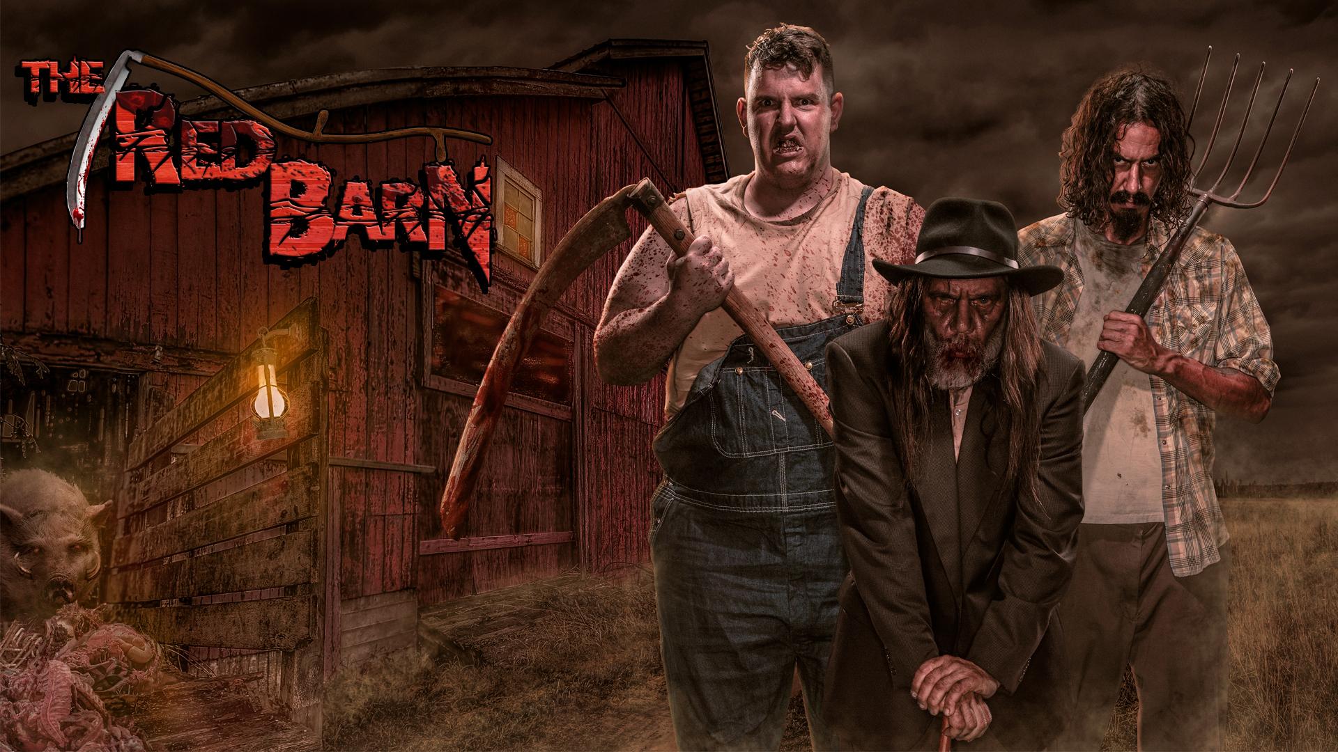 The Red Barn (Image courtesy of Knott's Scary Farm)