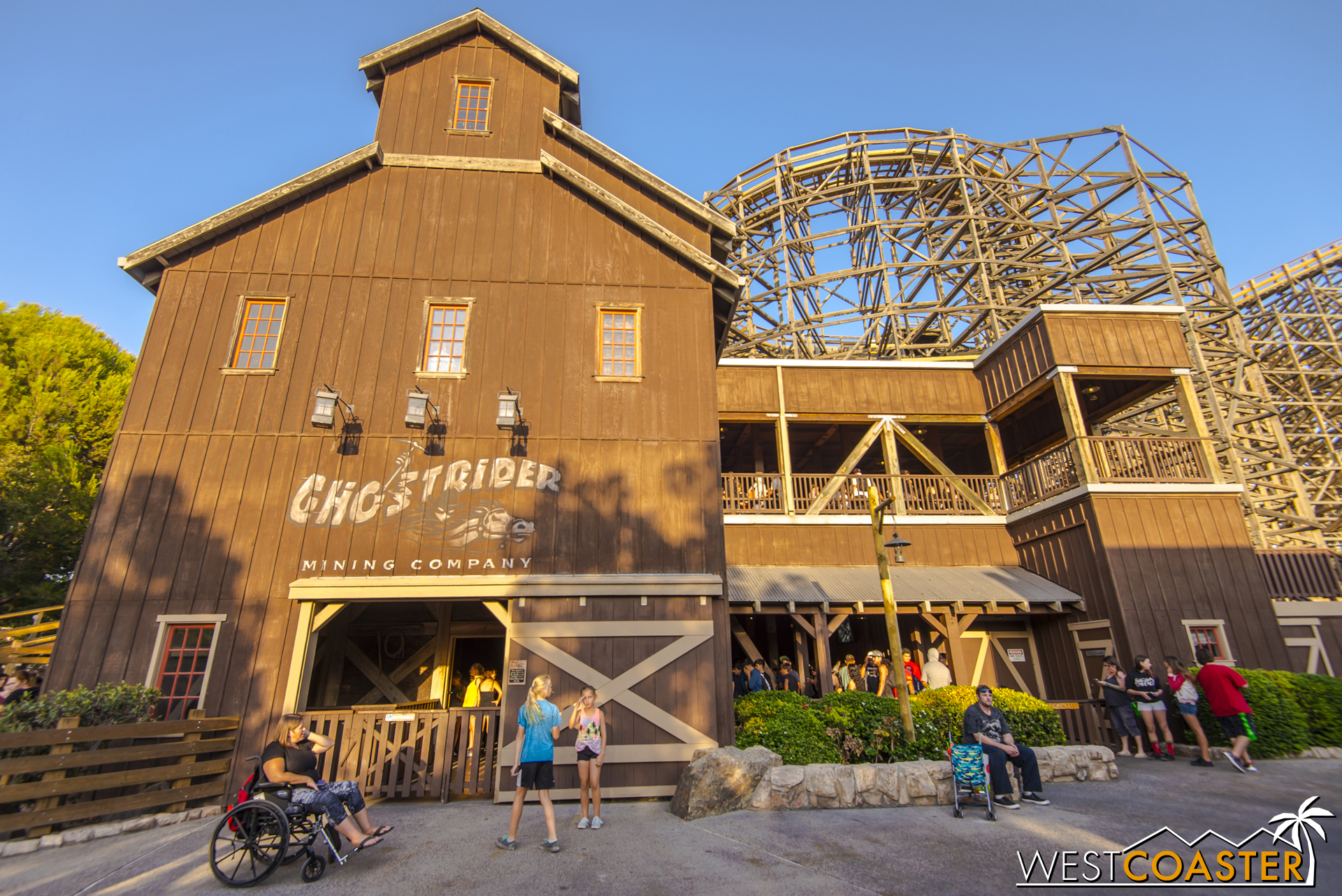 And really, just the refurbished coaster alone is worth taking a trip back to Knott's. That's before you move onto Ghost Town Alive! and the refurbished area.