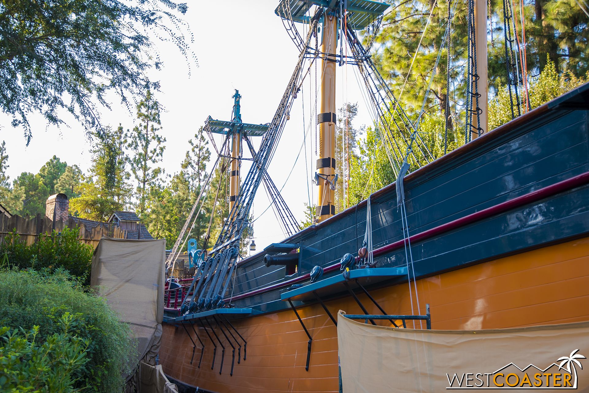 What'd they do? Why would they... WHAT DO YOU HAVE AGAINST MASTS, DISNEY? Show me on the doll where the masts hurt you.