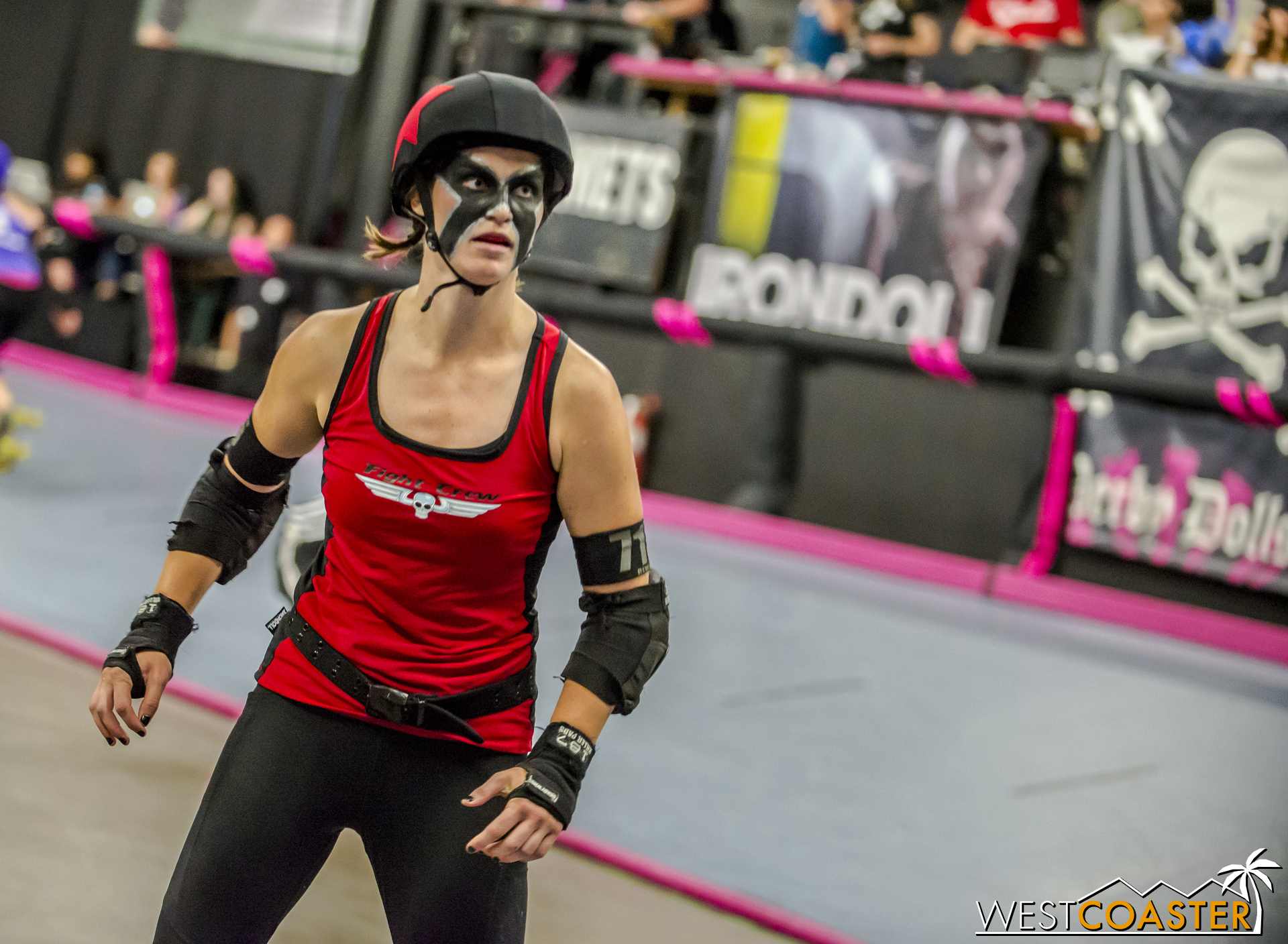 Fight Crew captain Remix to Submission strikes a menacing presence.