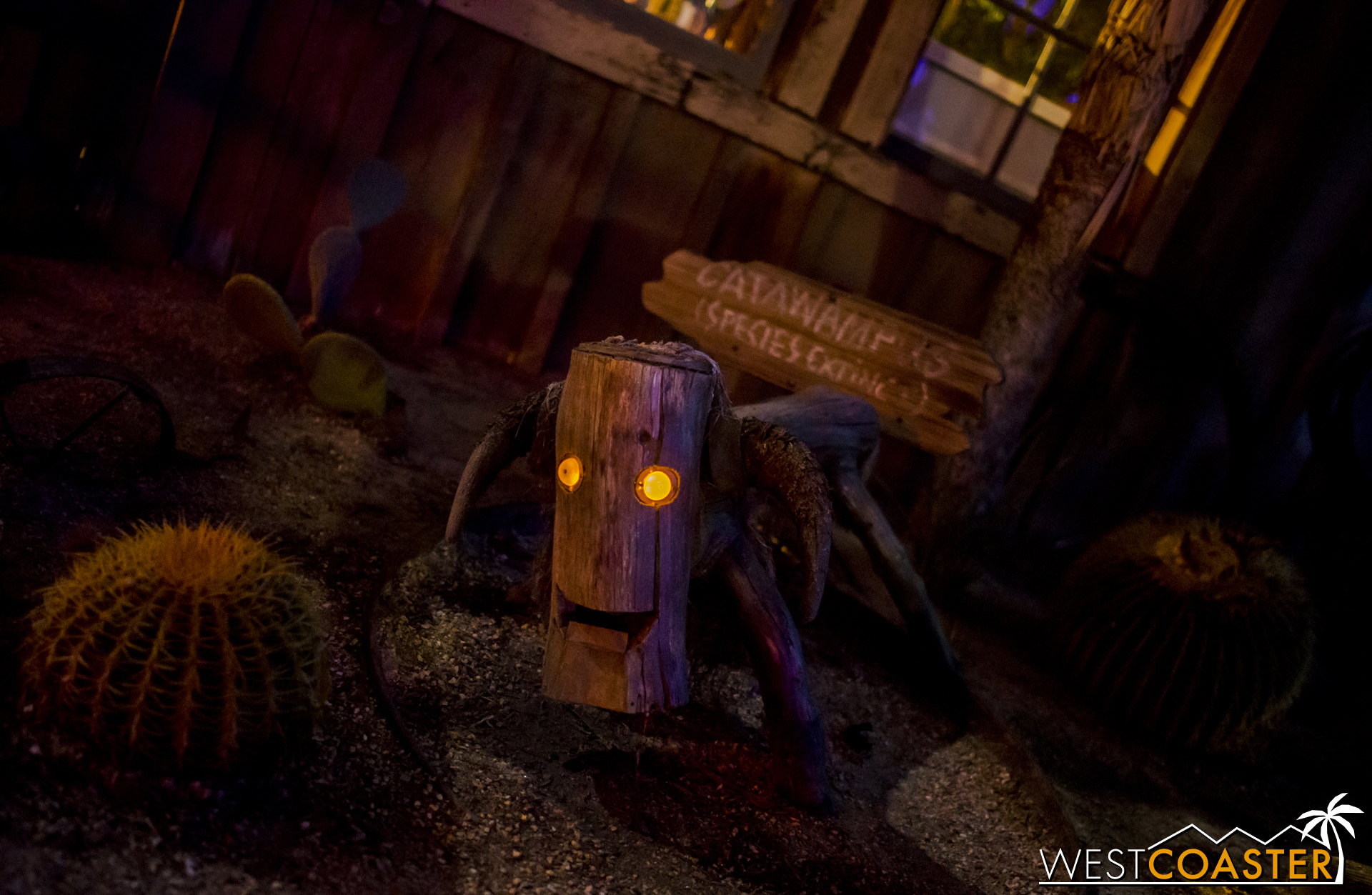 Spookywampus can't wait to moo guests into frightful terror when the Veil returns this fall!