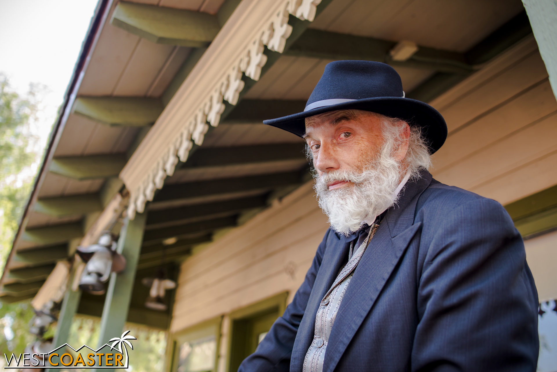 Or is he?  Judge Roy Bean has seen a lot in his day, and though he is also skeptical, he cannot rule out the coincidences.