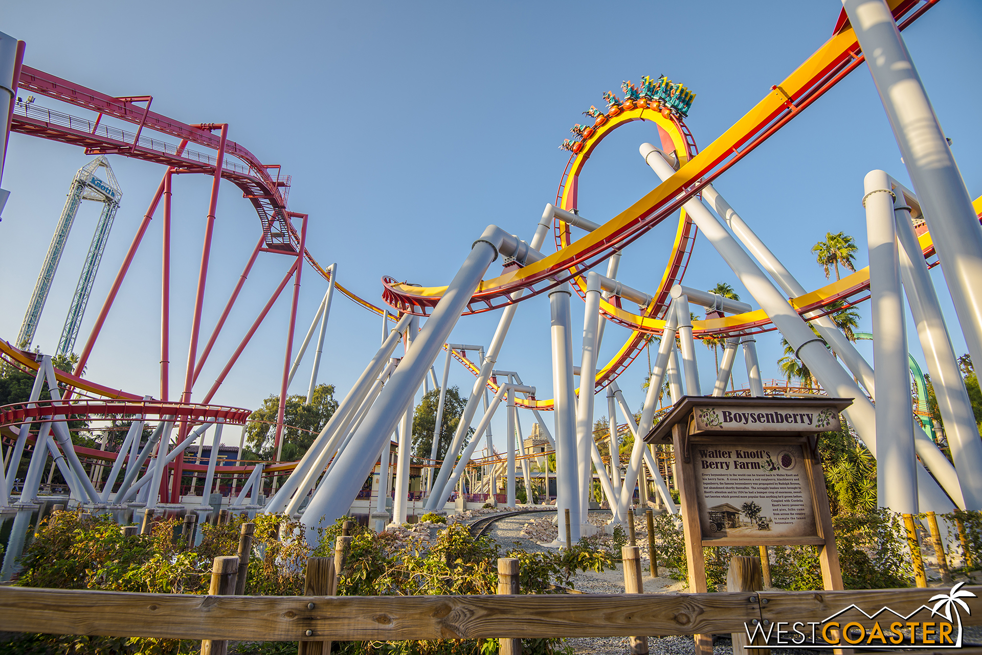 The B&M inverted coaster.