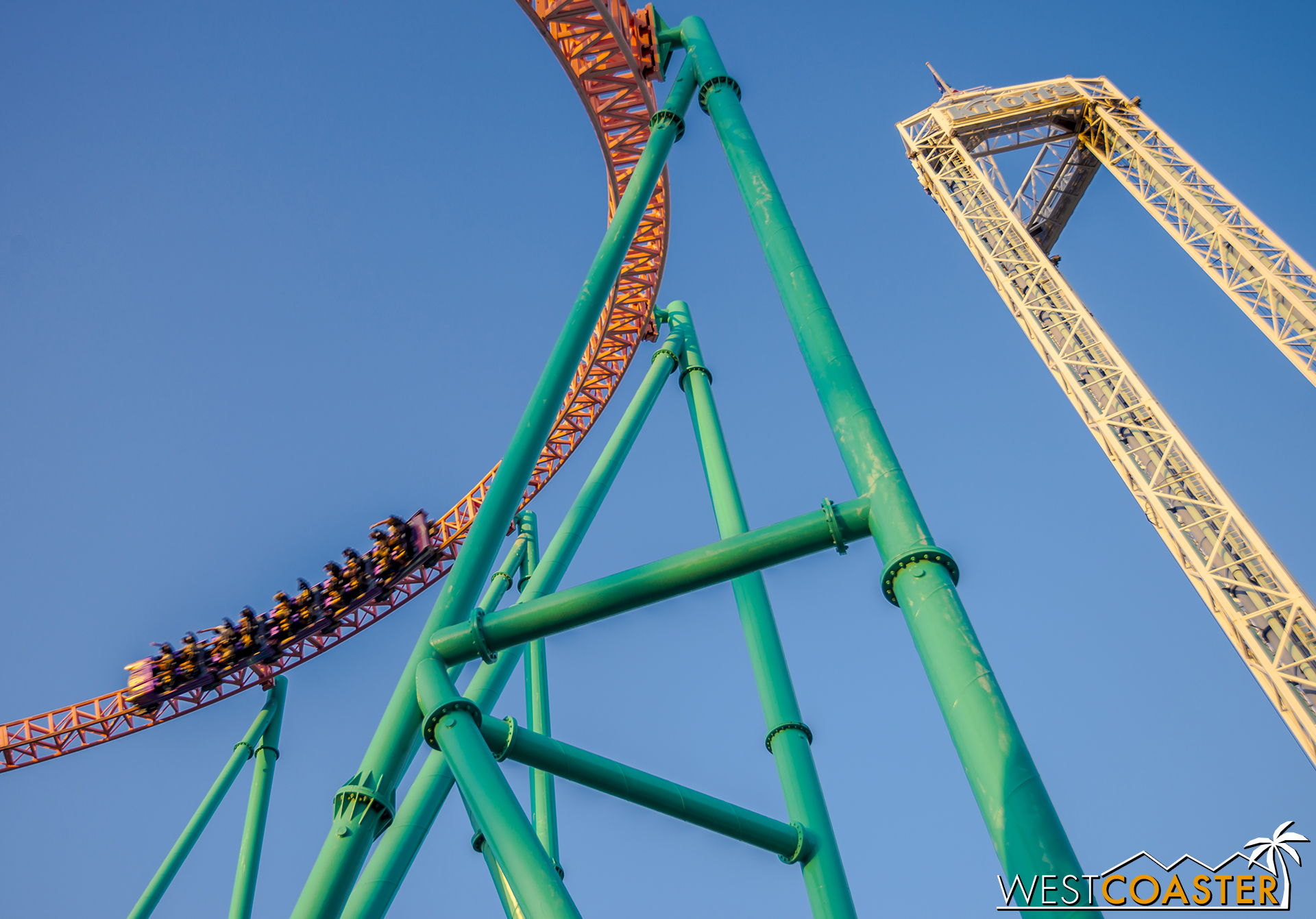 Xcelerator, with Supreme Scream in the background.