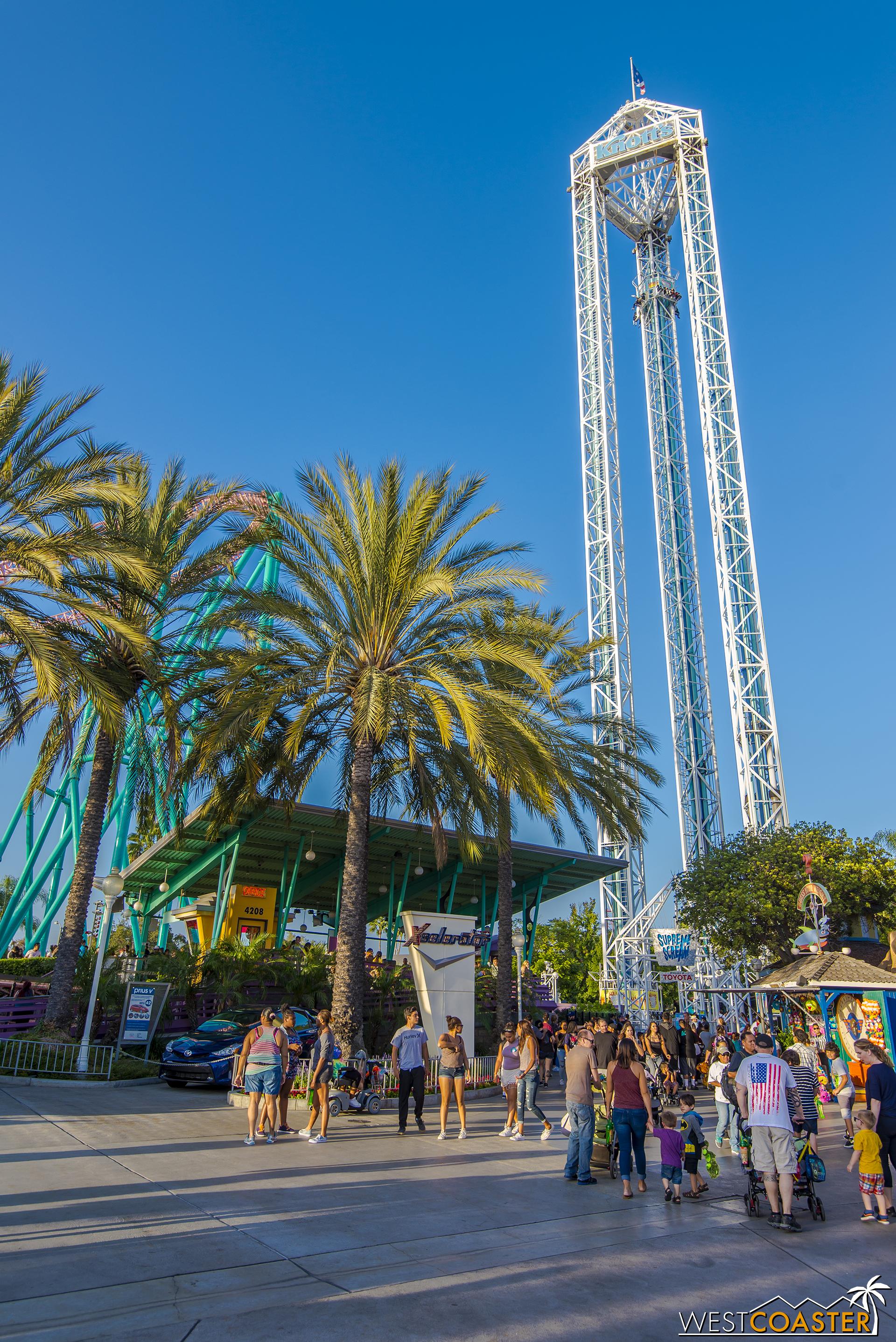 Tall ride is tall. 252 feet tall!