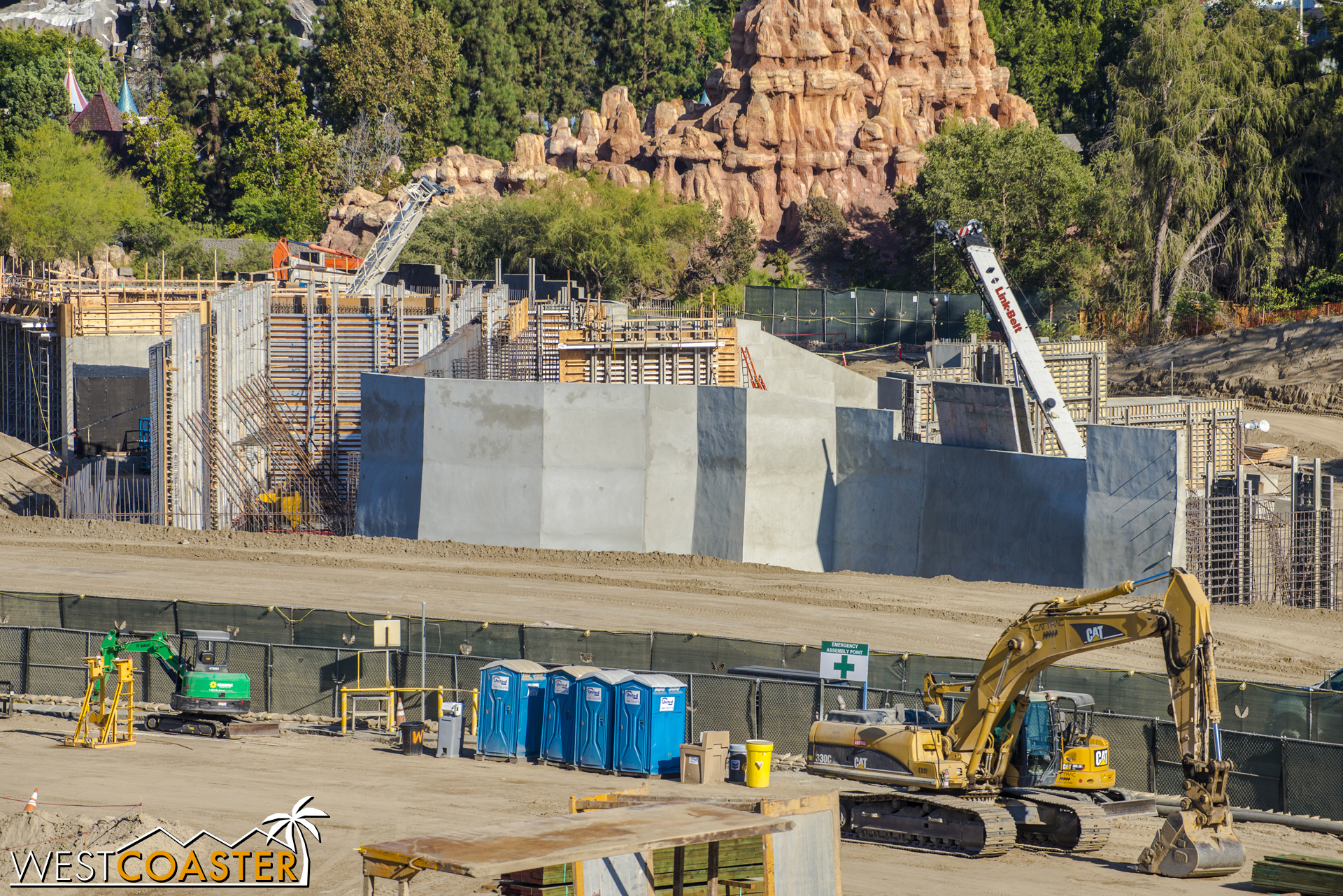 "No openings cast in, though, so I'm not sure how these will play into ""Star Wars"" Land's layout."