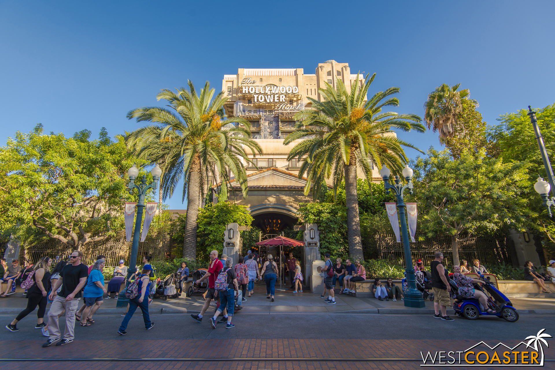 Tower of Terror will be shedding its art deco exterior.