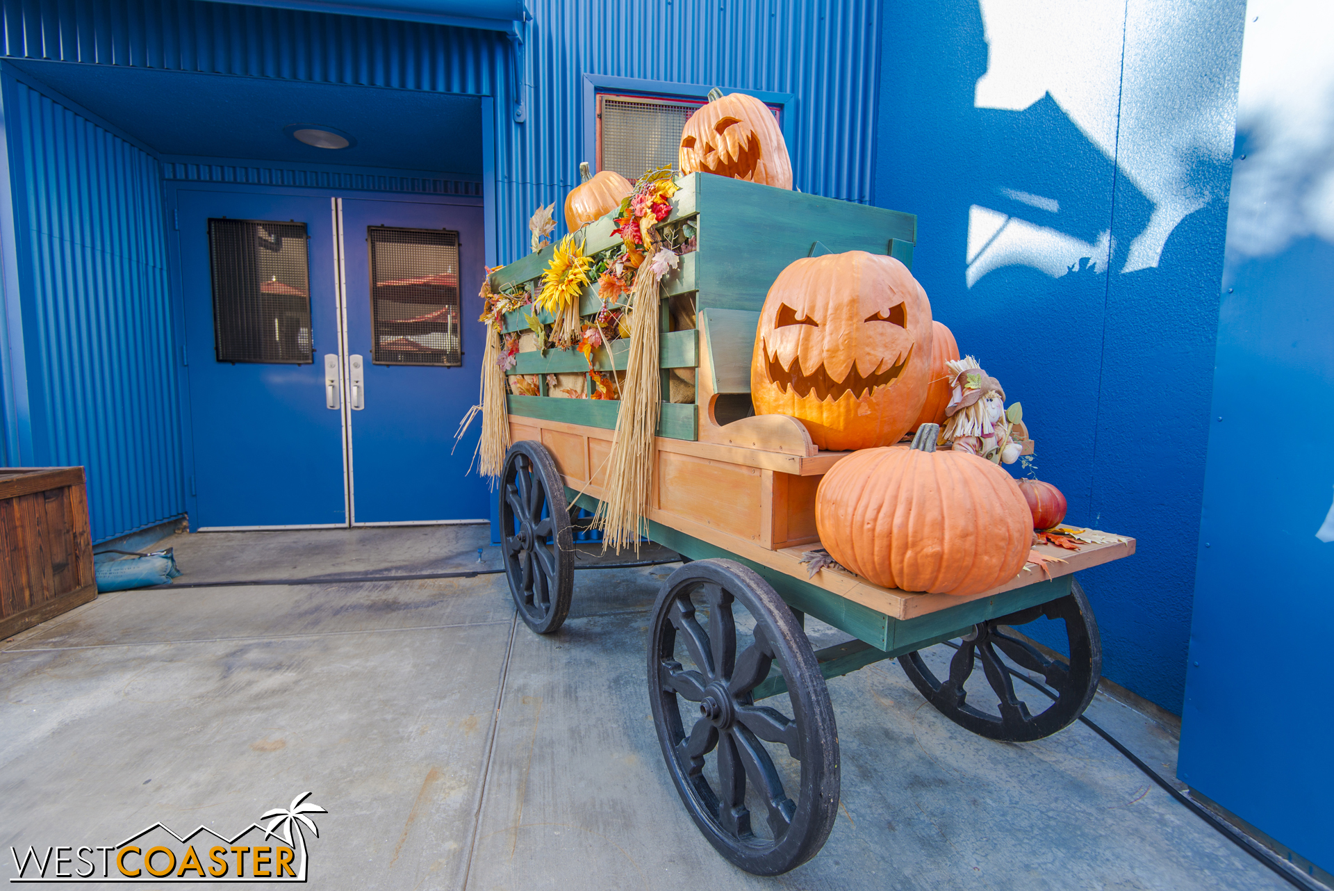 Looks like some of the Halloween props from Big Thunder Ranch got shipped over here.
