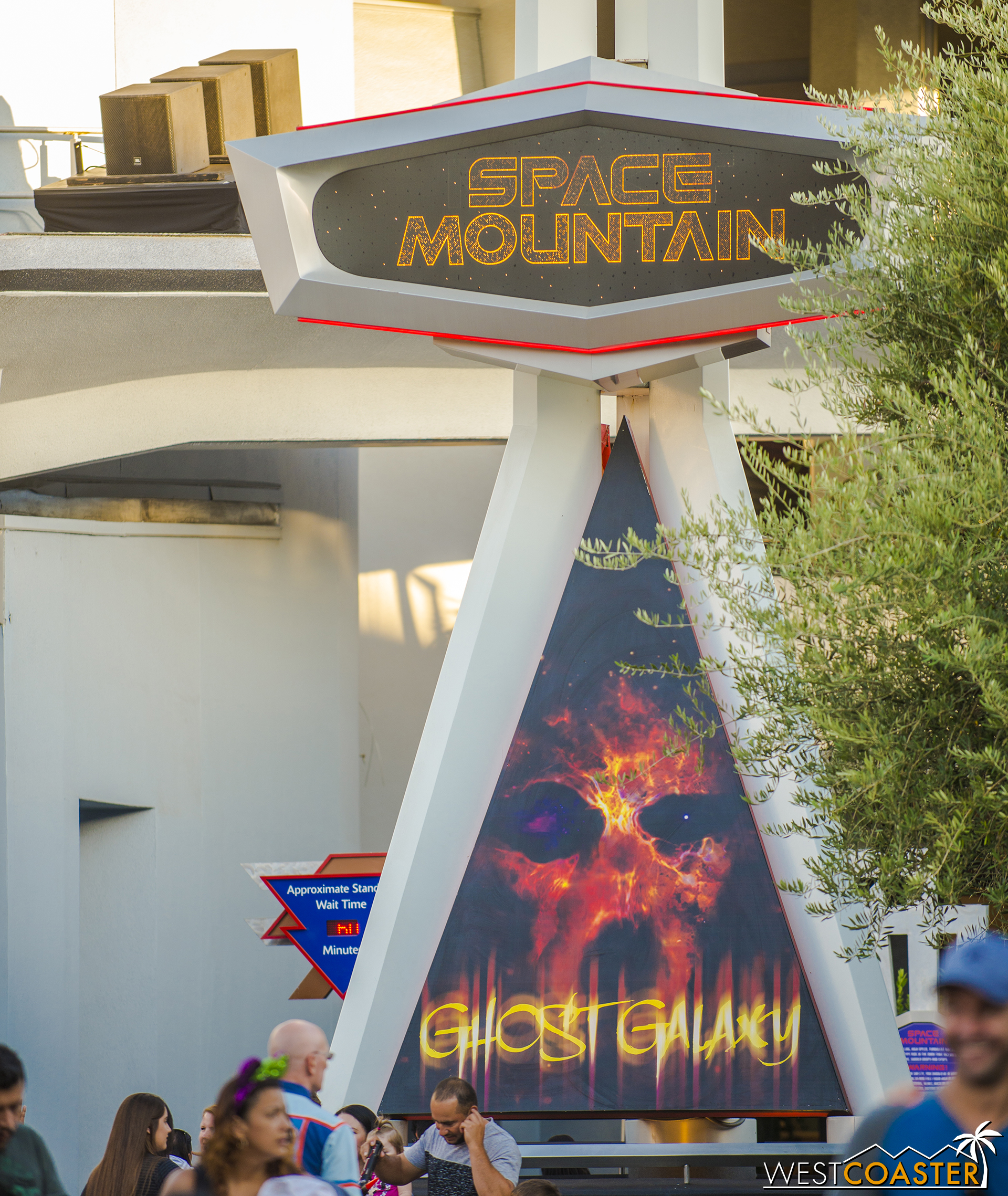Just without Hyperspace Mountain, which has lost the Star Wars and gained an intergalactic spectre again.