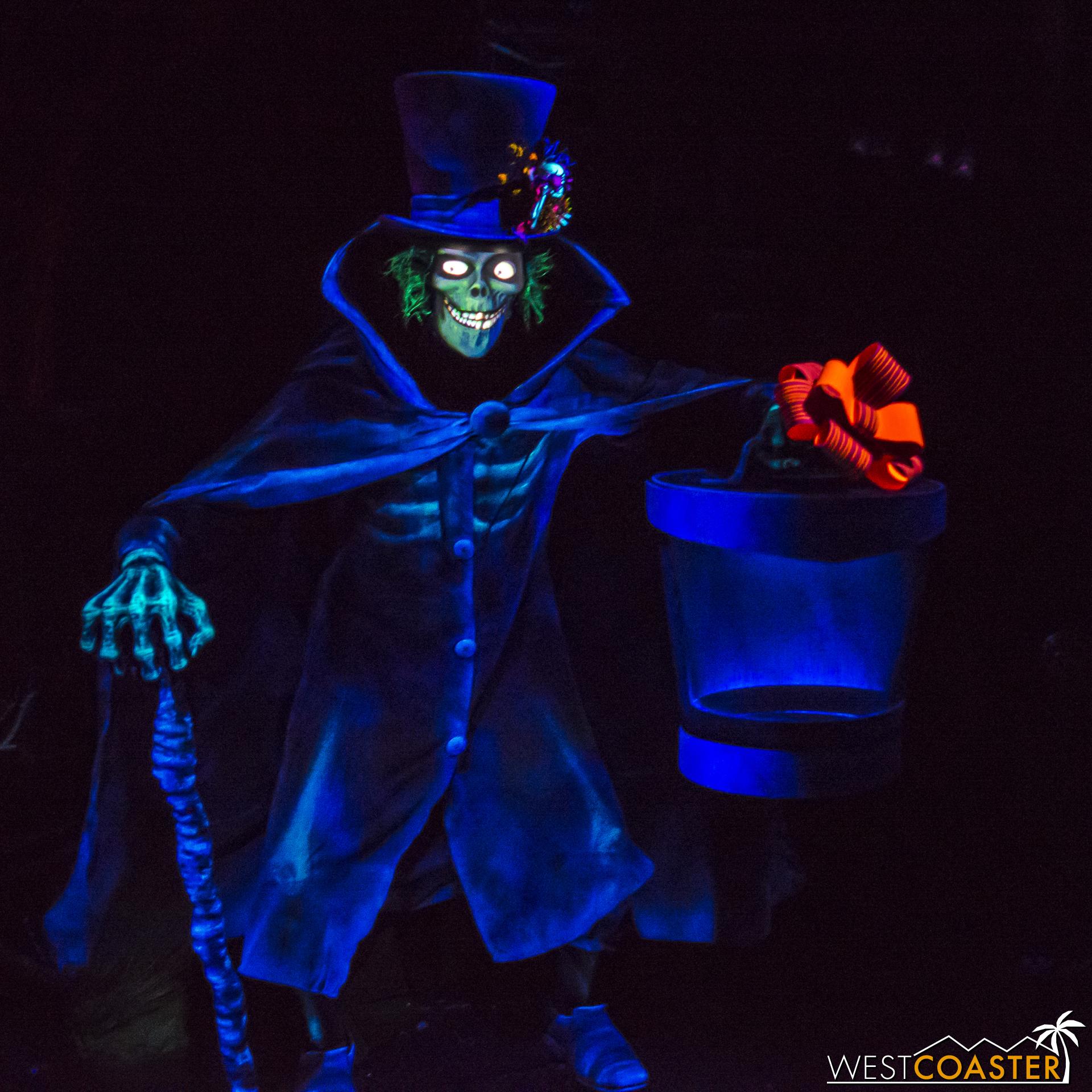The Hatbox Ghost is still around.