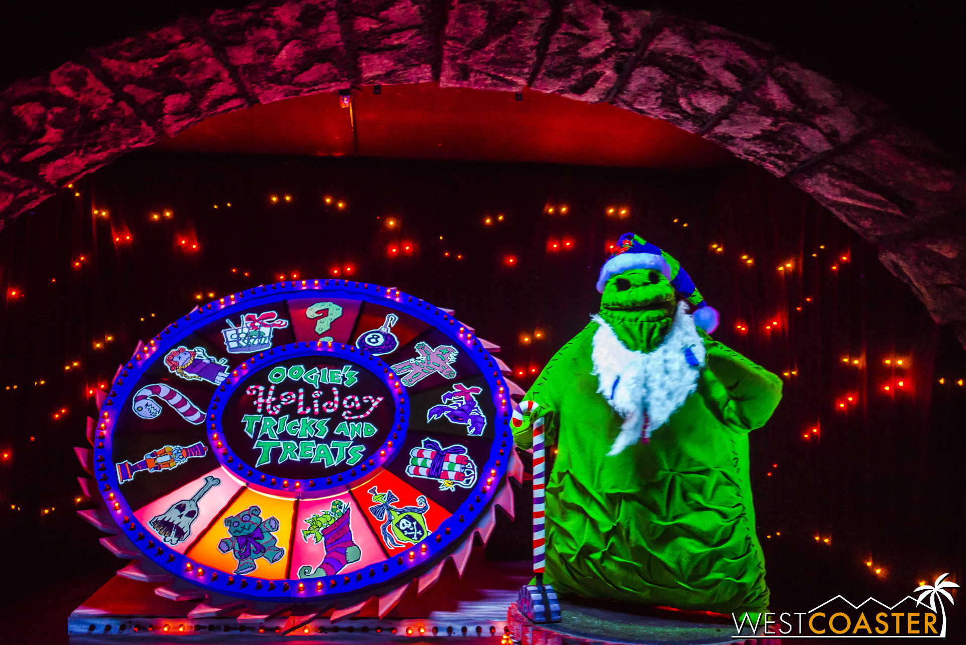 Just watch out for Oogie Boogie's tricks as you conclude the tour.