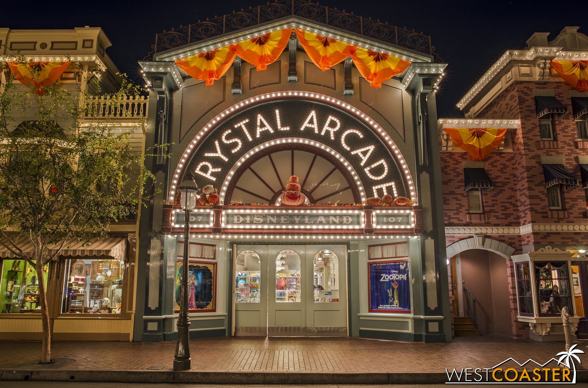 Moving on to Crystal Arcade.