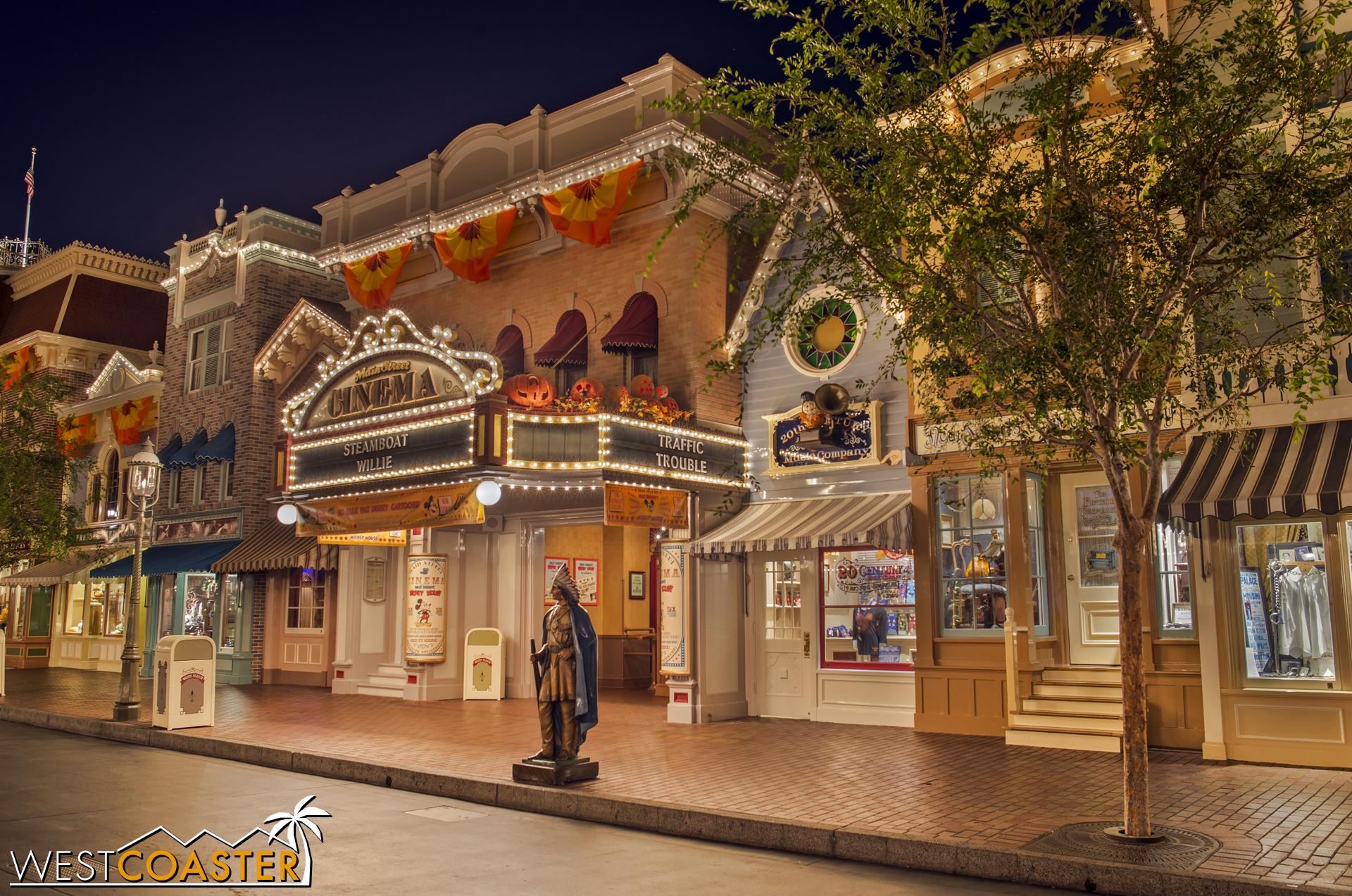 Onto the Main Street Cinema.