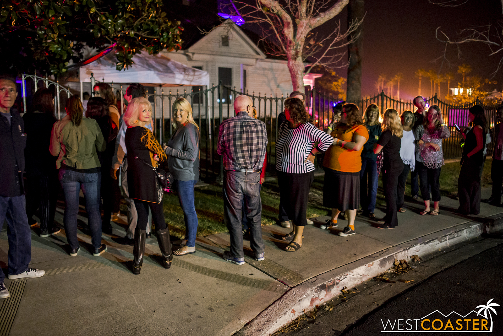 The four-night event proved to be pretty popular, with regular waits.