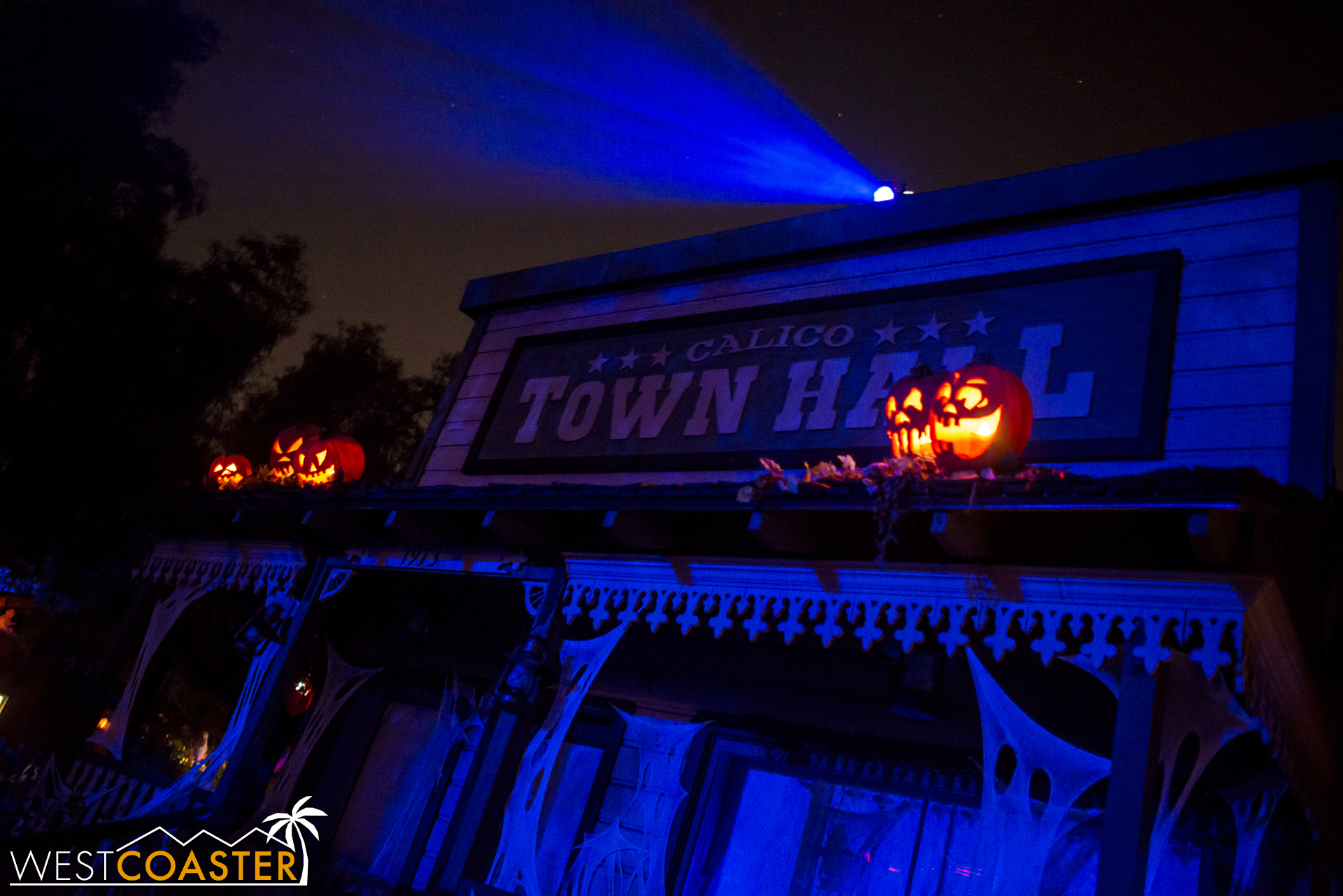 The former Haunt Museum turned Town Hall for Ghost Town Alive! is the site of Visions.