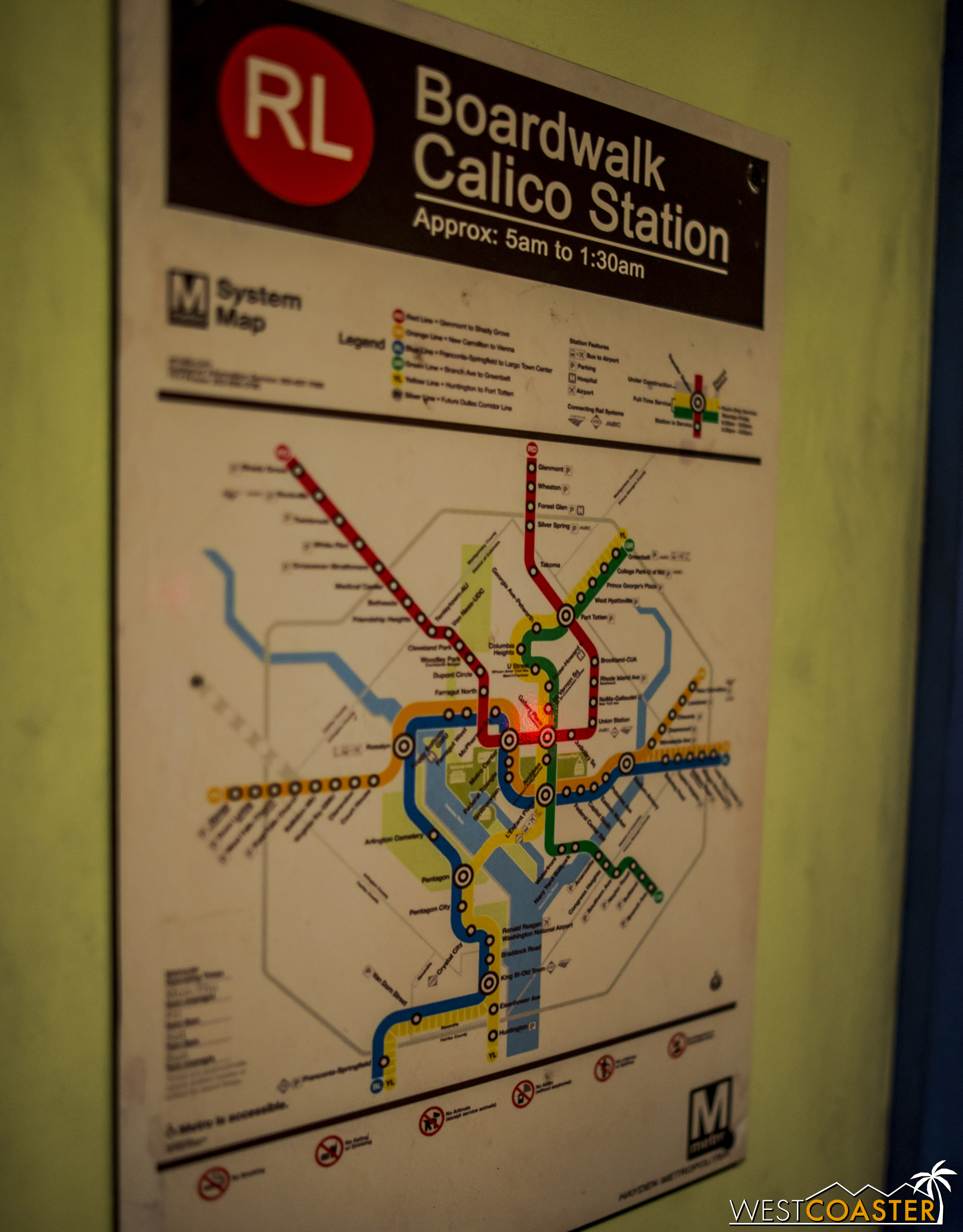 I initially thought this was a custom map, but second glance, I guess Calico is actually Washington DC!