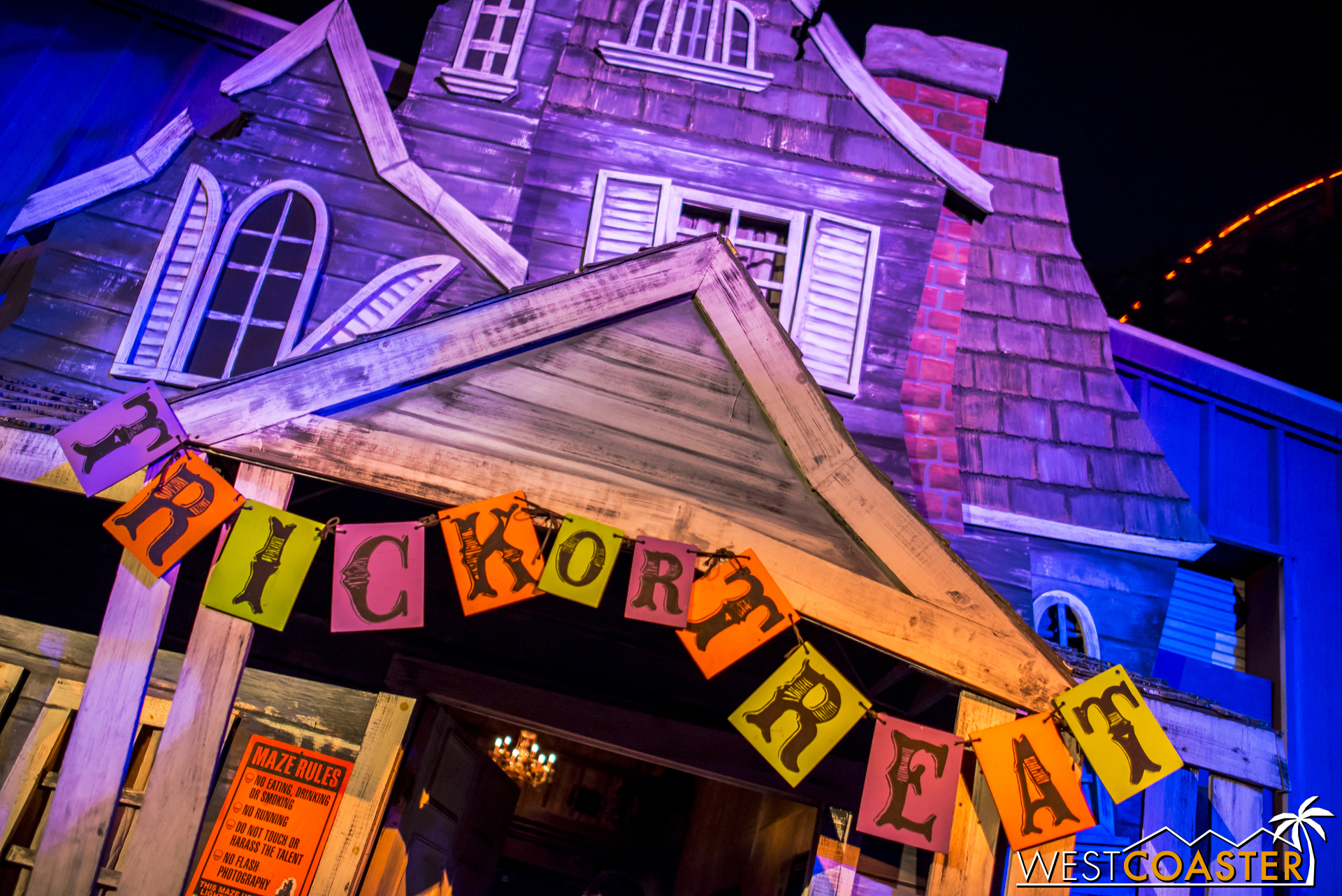 Trick or treat!! That now-classic facade is back for another year, which is great in my book.
