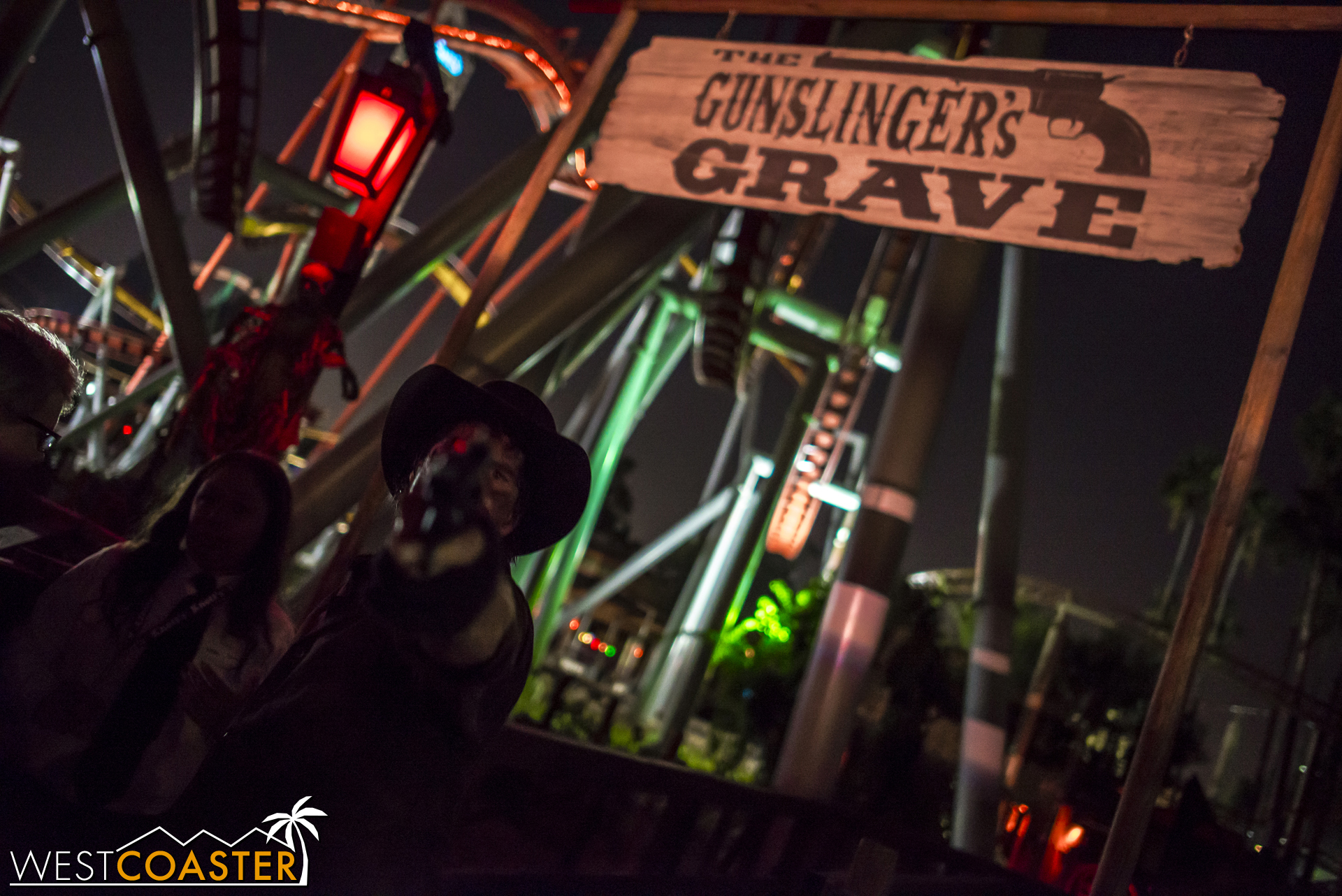 Guests entering this maze may come face to face with The Gunslinger himself.