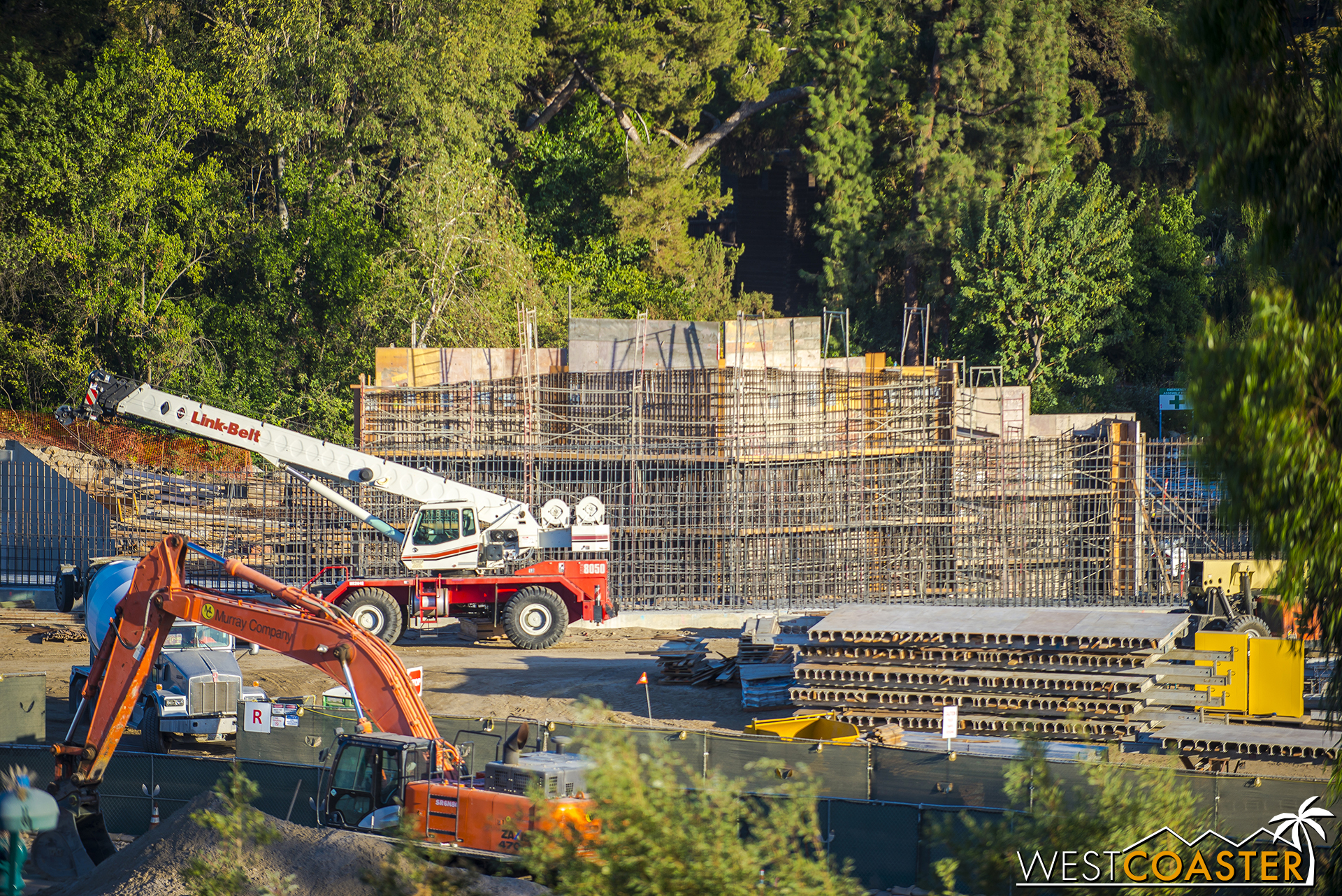 "So much concrete formwork!  ""Star Wars"" Land will be stiff  and  ductile!  And unless you're an architect or structural engineer, you probably don't appreciate that description!"