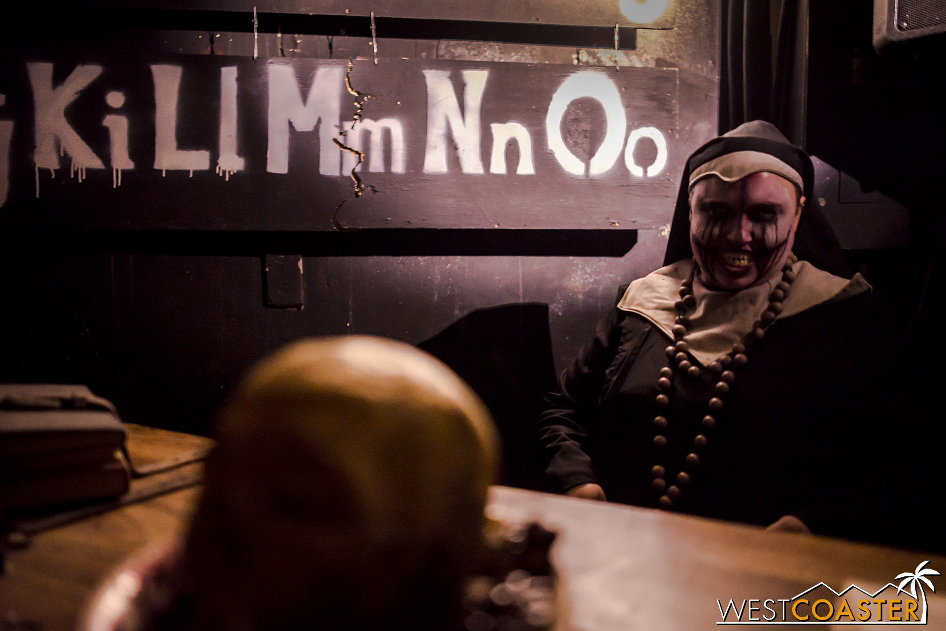 The nun will see you and teach you some murderous alphabet recitation.