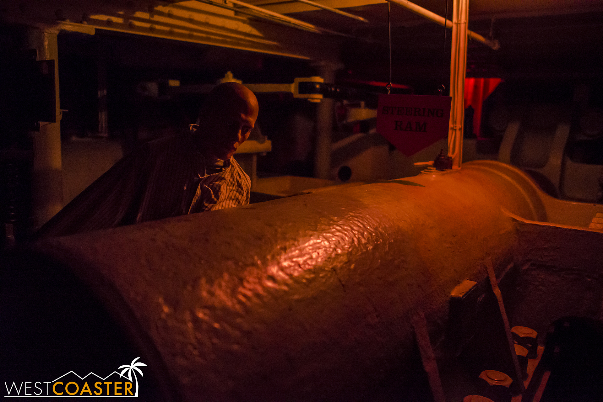 The maze goes through parts of the ship that have not previously been open during the Dark Harbor event.