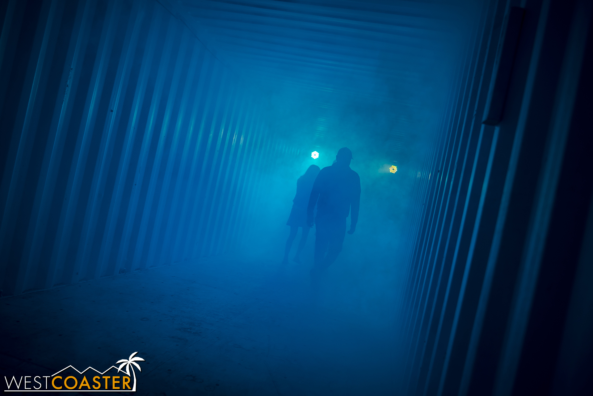 And finally, the best finale of any maze at Dark Harbor returns.