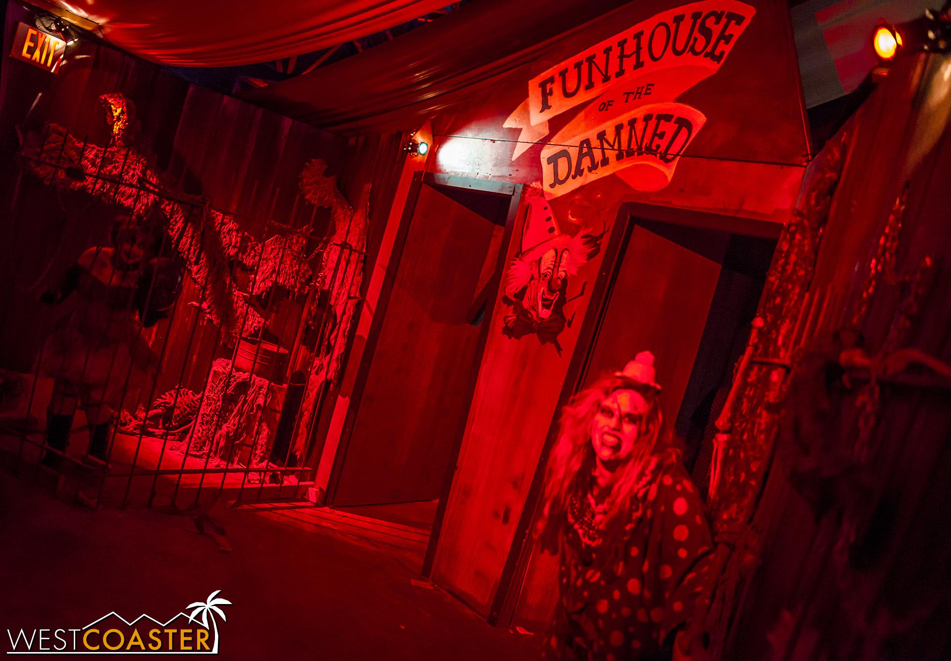 Onto the funhouse!