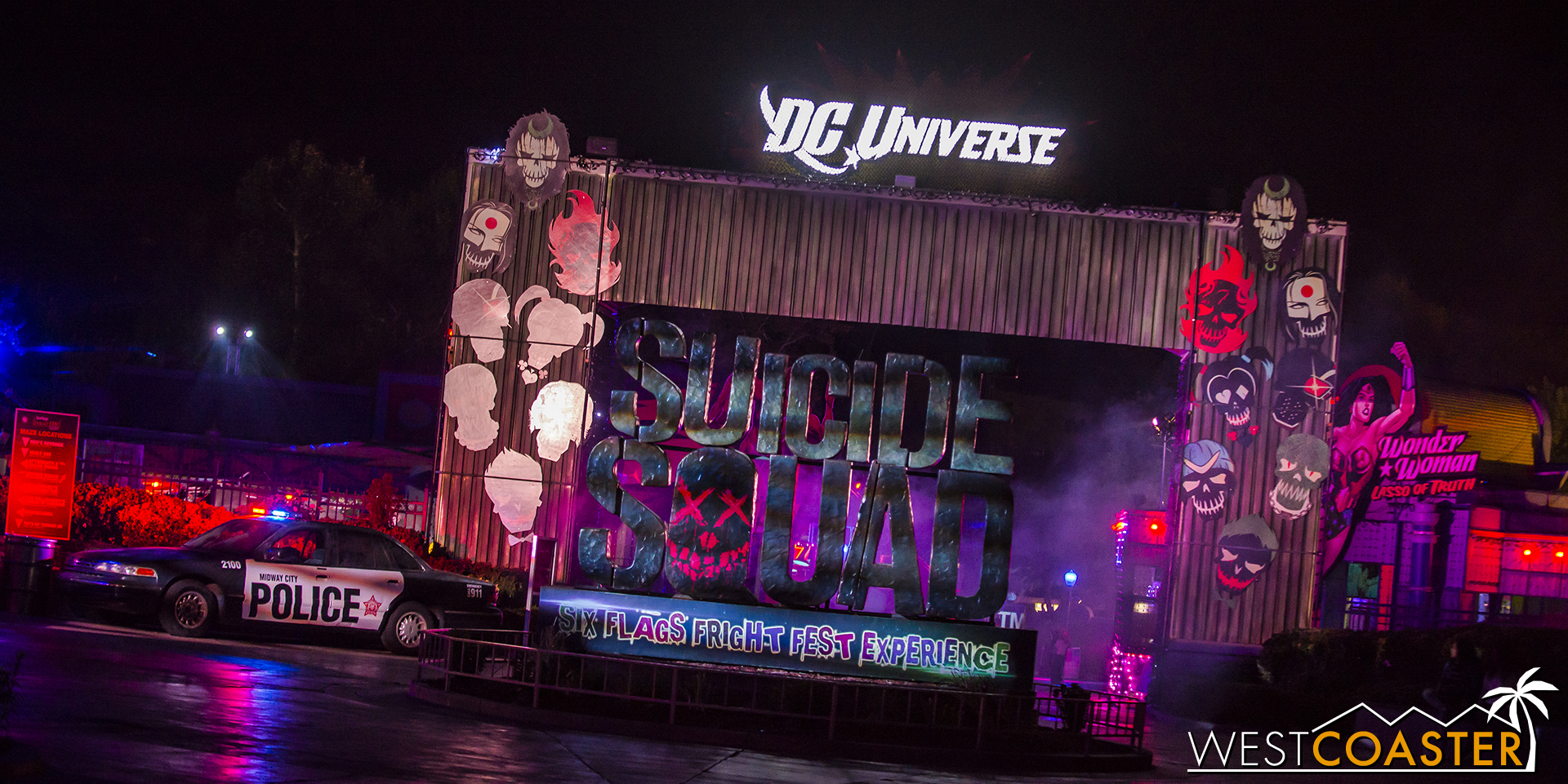 Exclusive for this year's Fright Fest is the Suicide Squad scare zone and experience.