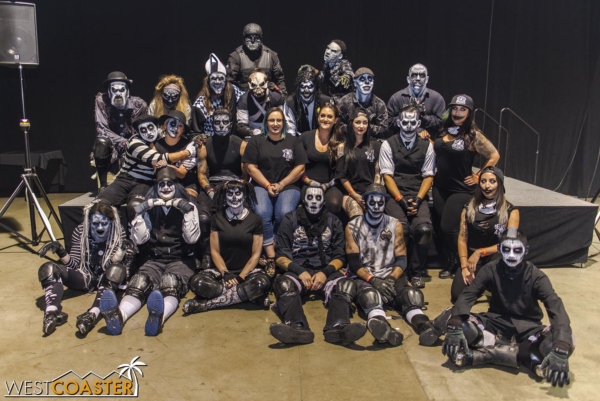 Decayed Brigade at Midsummer Scream.