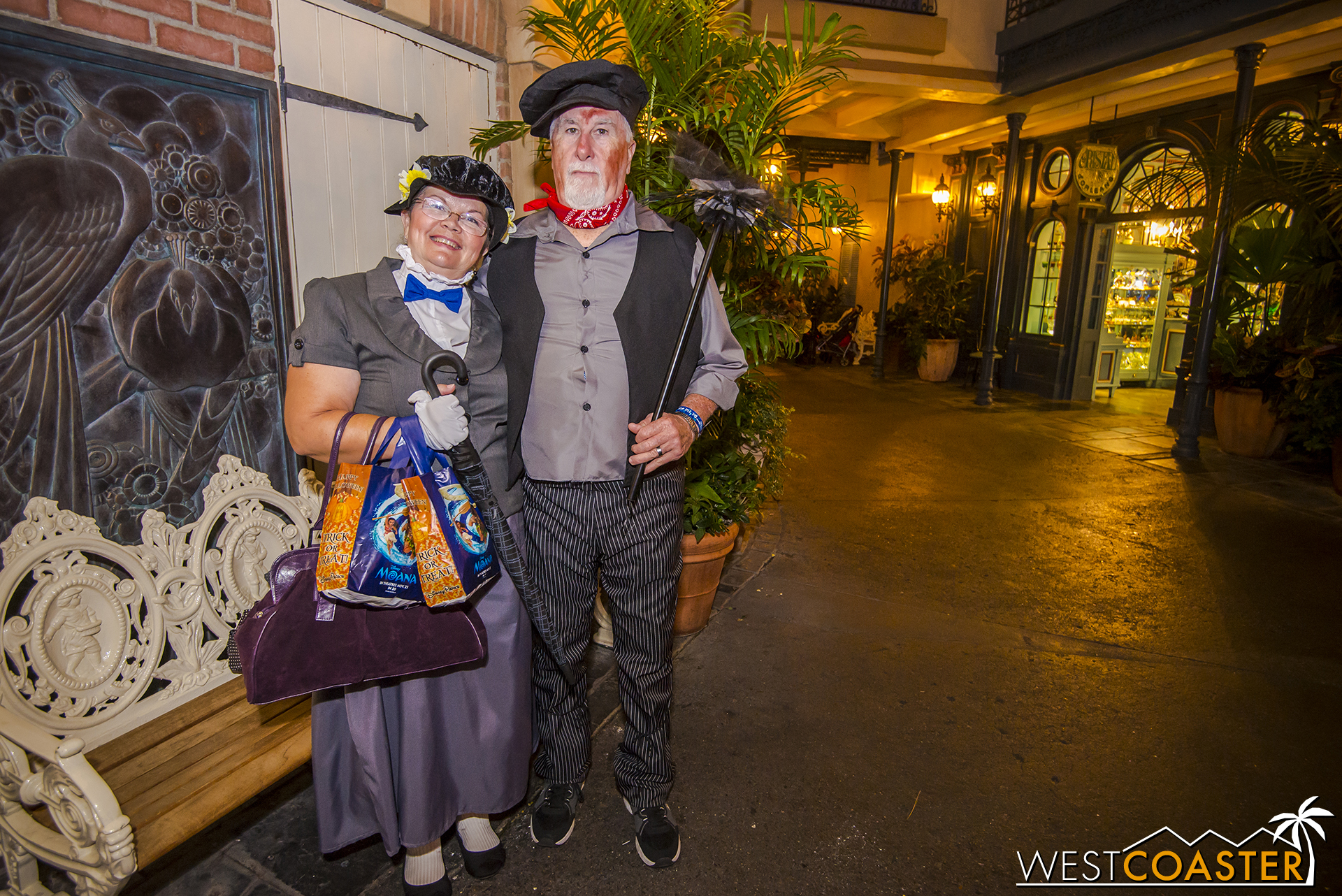 Guests take all sorts of approaches to Mickey's Halloween Party, from  Mary Poppins -style dapper...