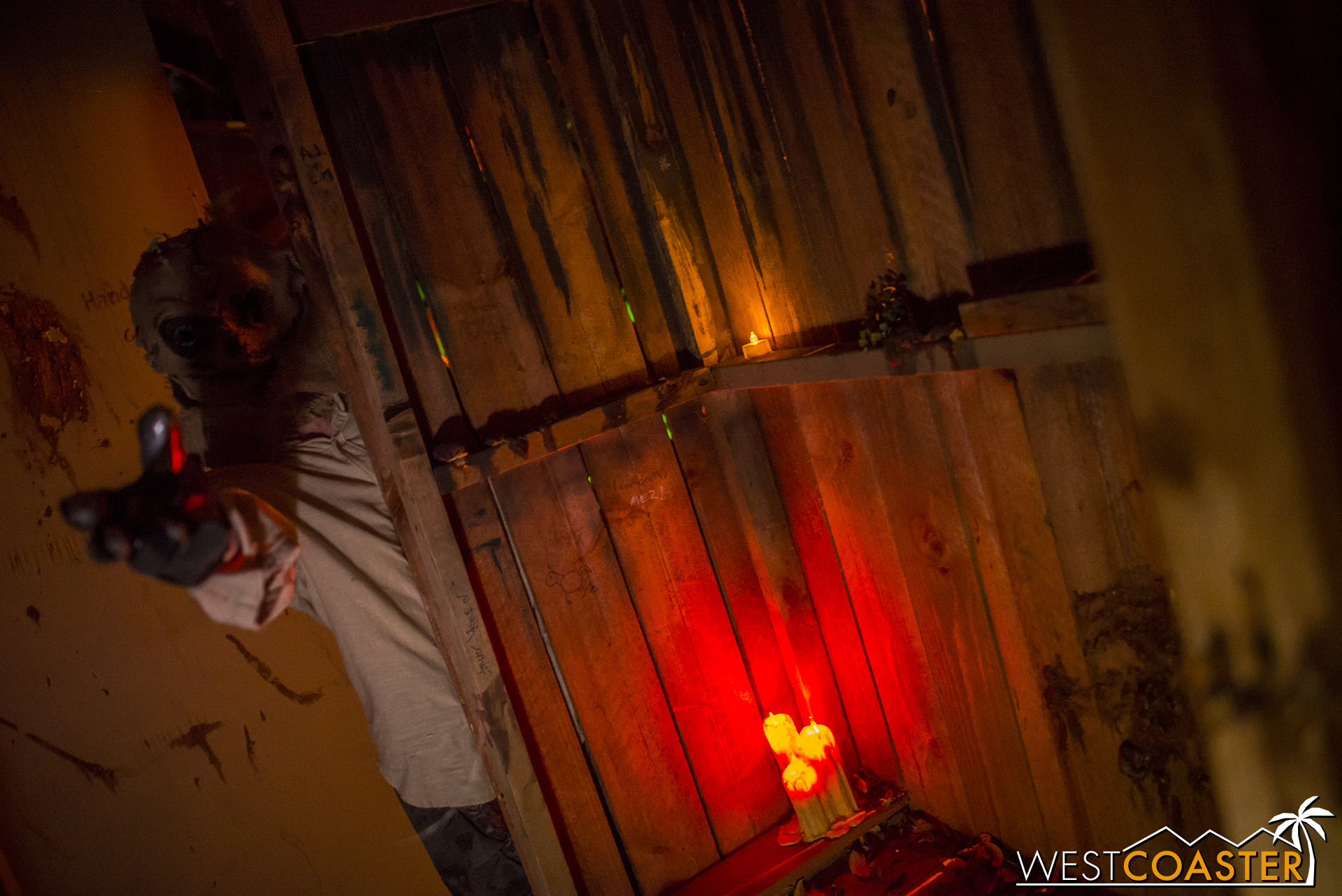 Guests do pass through the outhouse again this year, but no spoilers on what happens there.