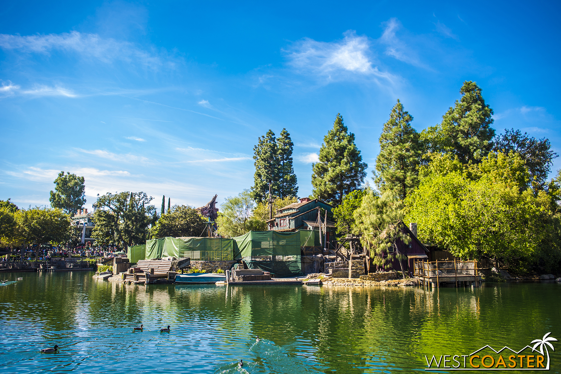 It's Tom Sawyer Island!