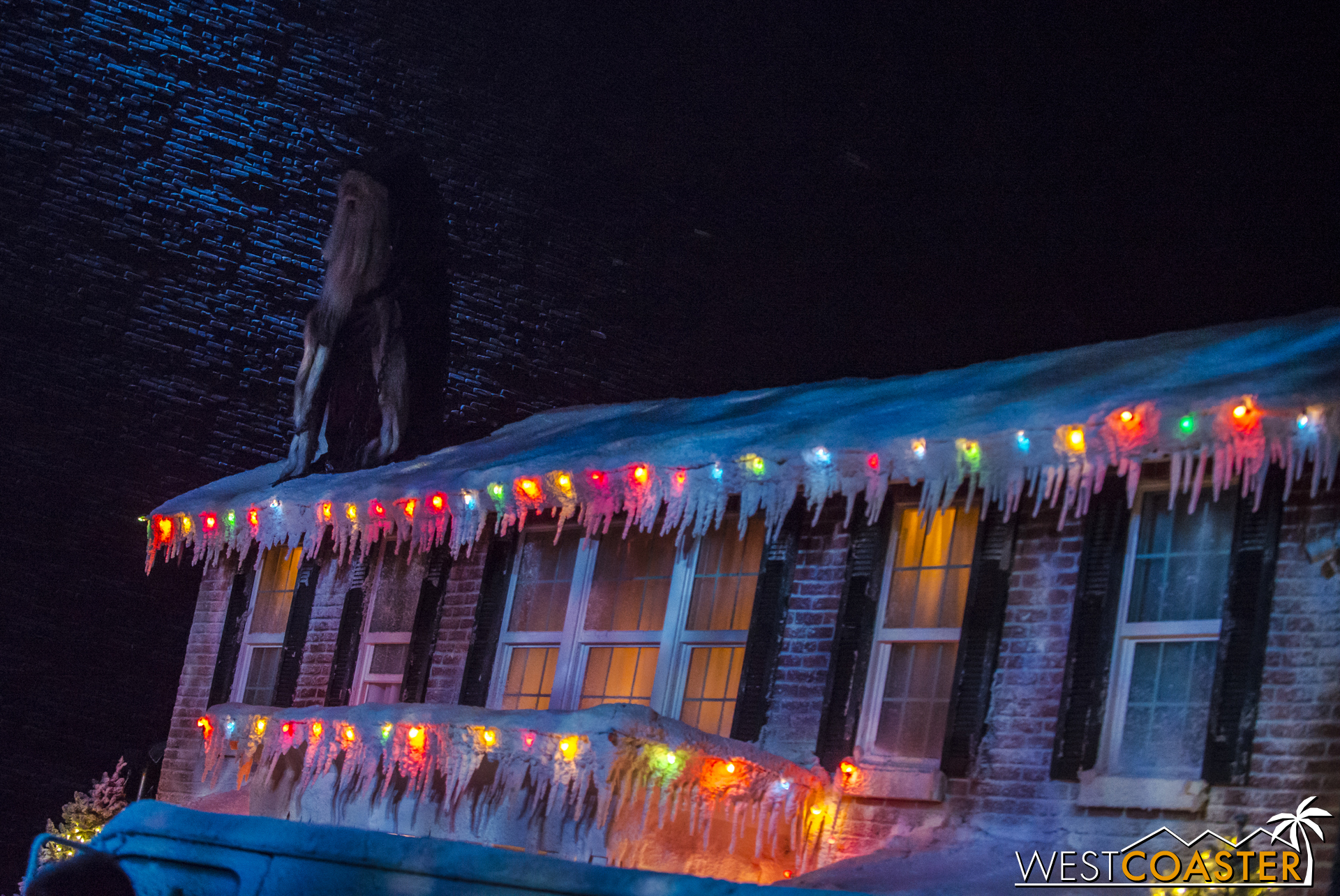 Ont he heels of the Dark Christmas scare zone from 2014 and 2015 comes Krampus.