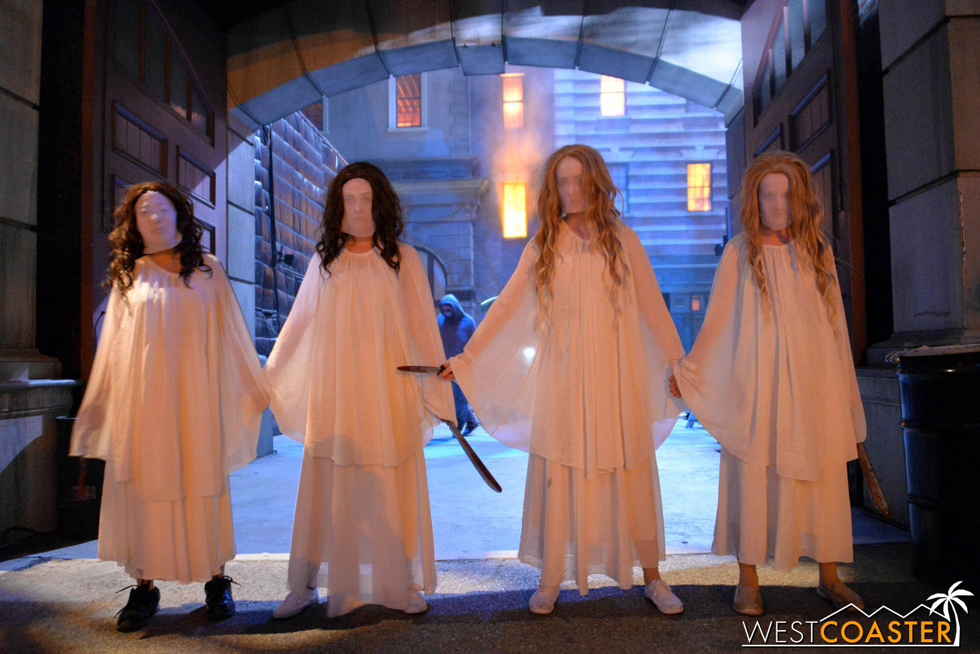 4 ladies to Purge your hearts out. Literally.