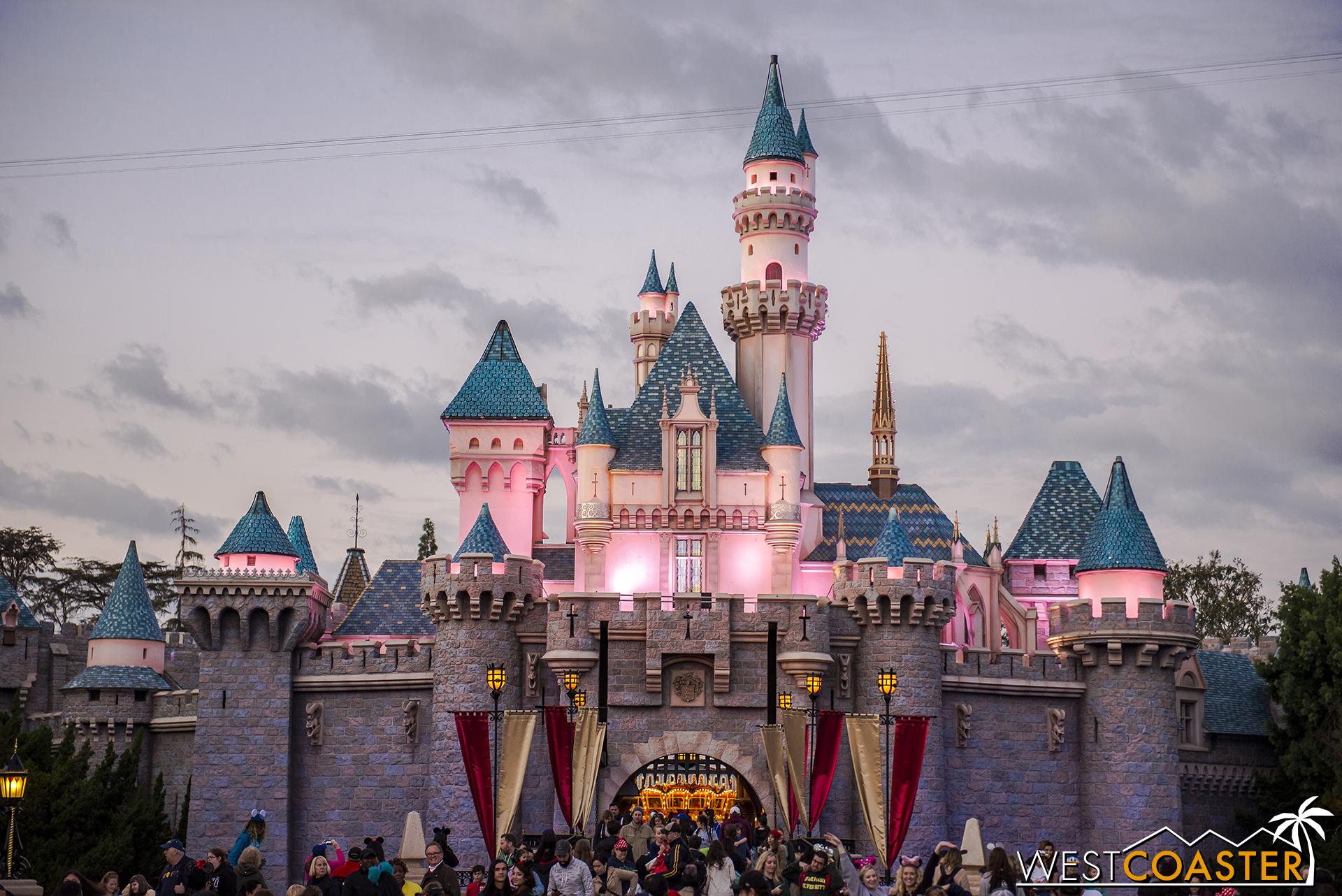 No Christmas tree! No Christmas! Plus the castle is splooge-free!