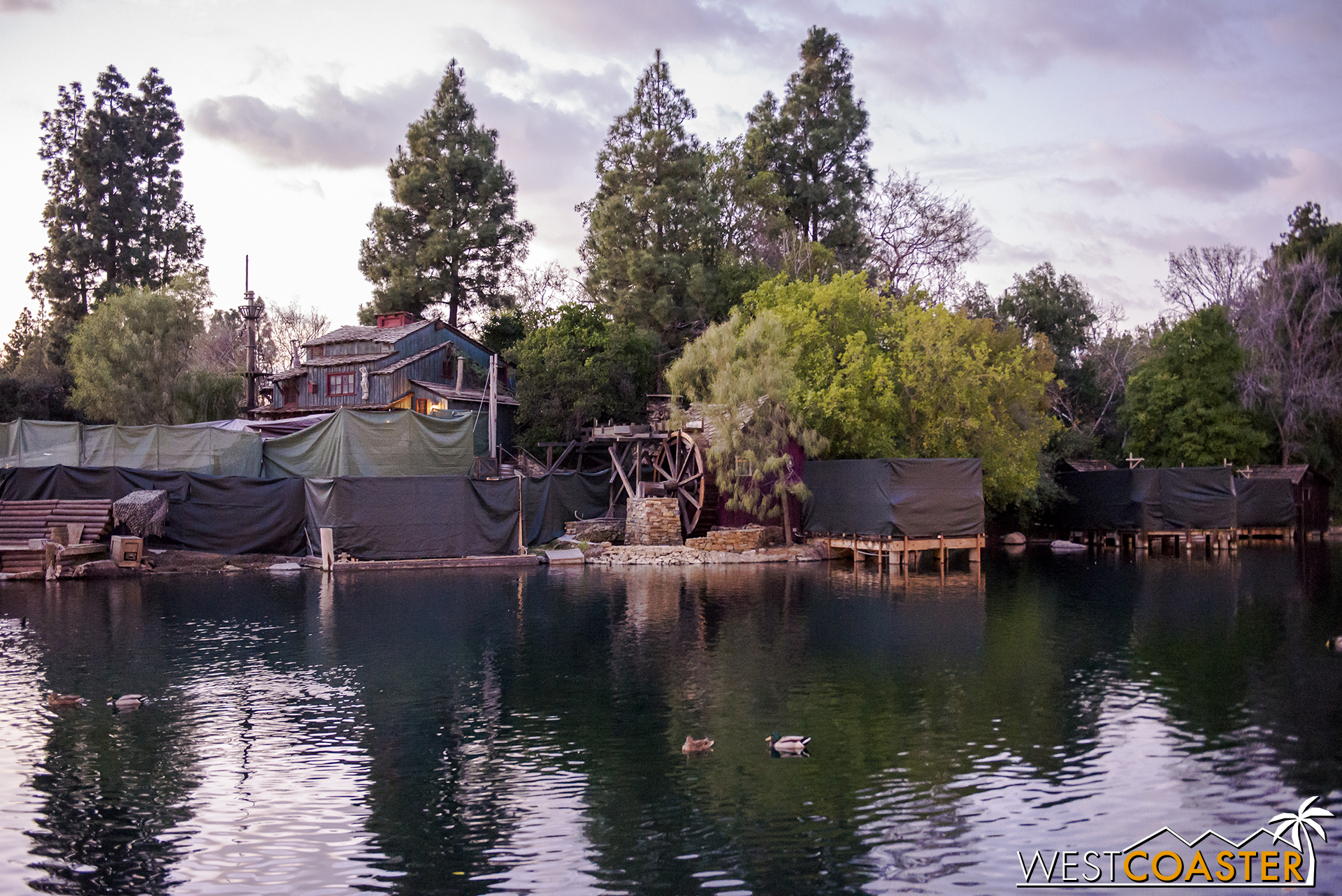 This will ensure that this long lost part of the show will finally work at all times.  You know, unless the fountains break.